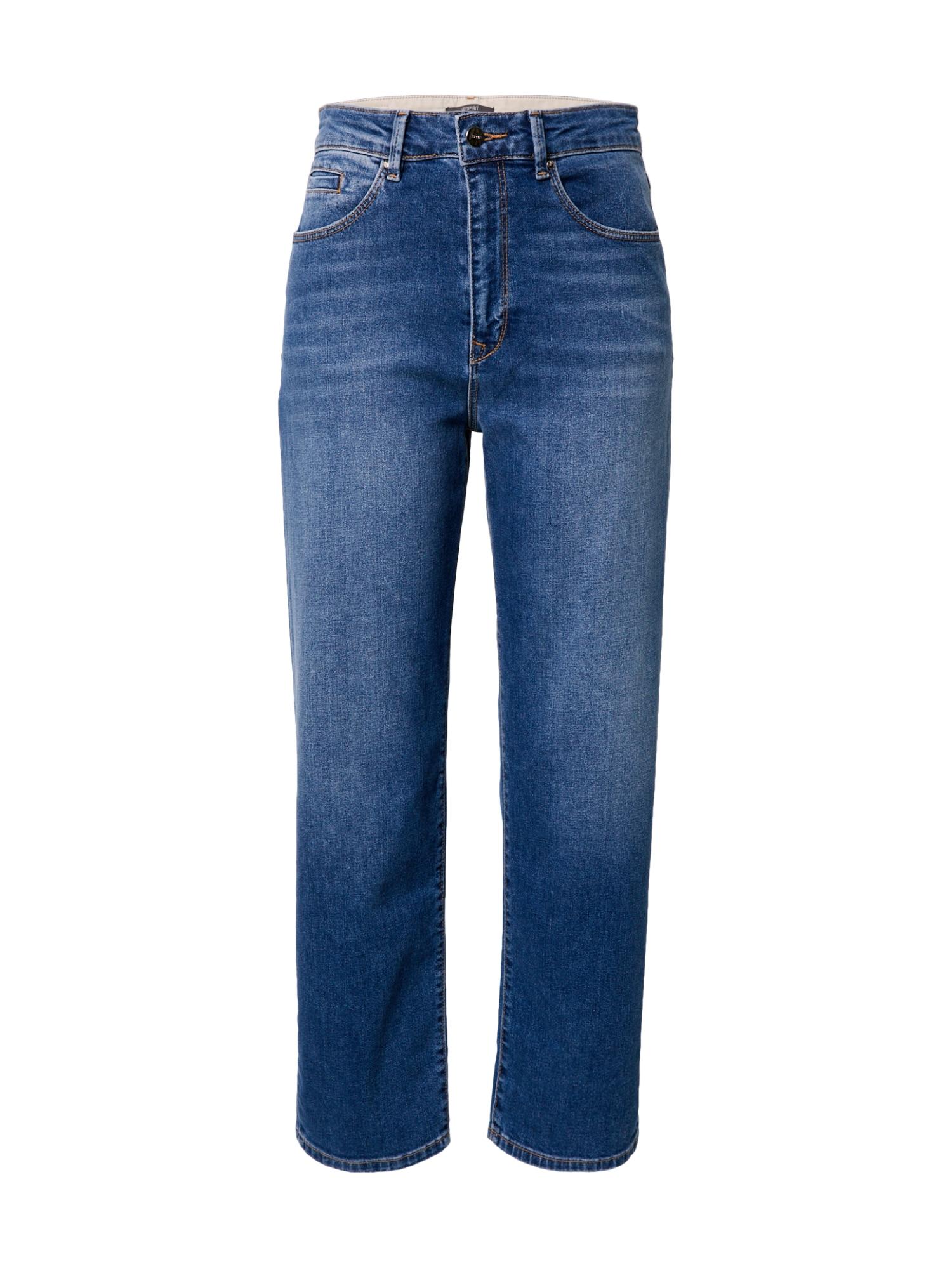Esprit Collection Džinsai tamsiai (džinso) mėlyna
