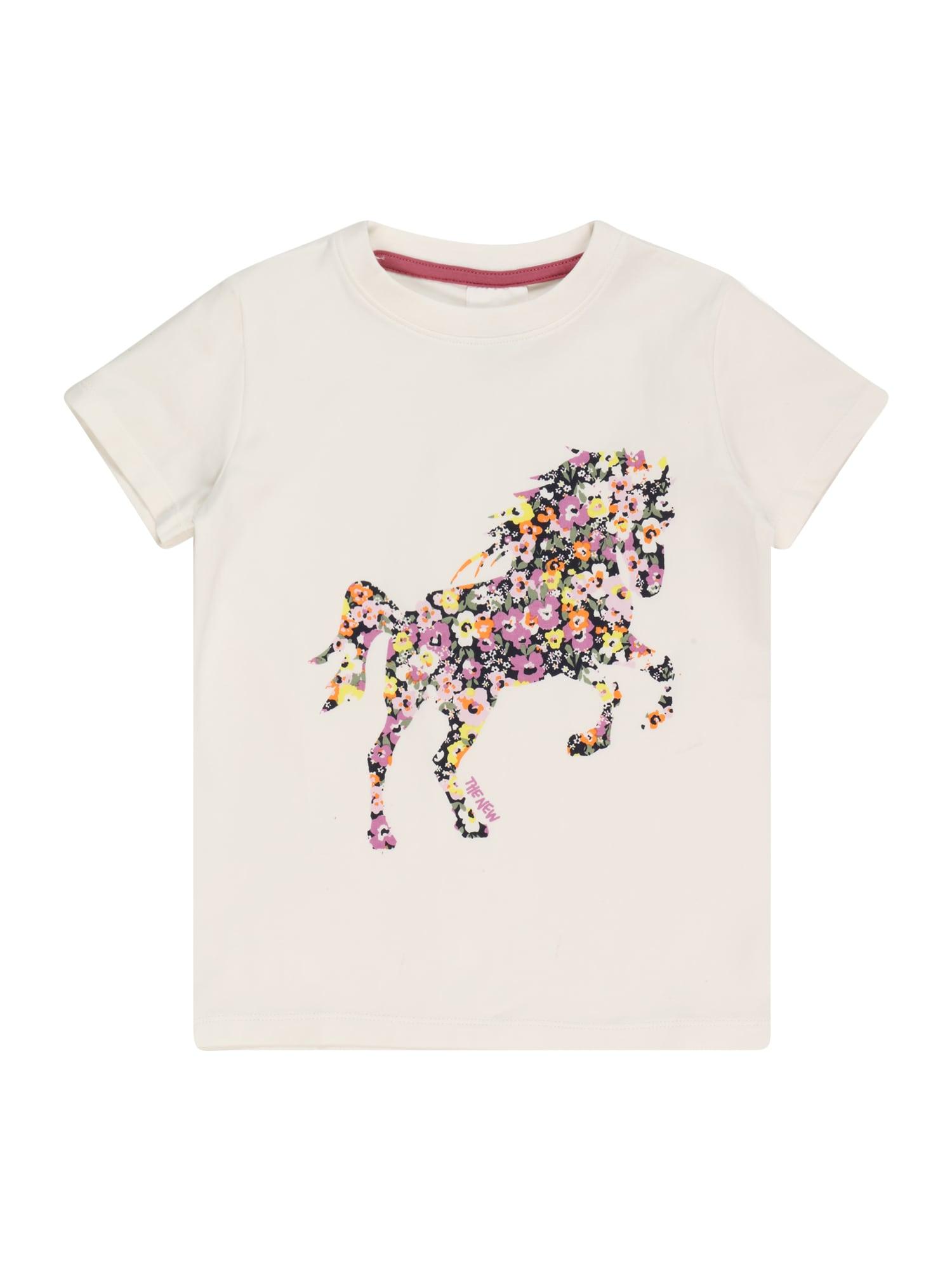 The New Marškinėliai balta / mišrios spalvos