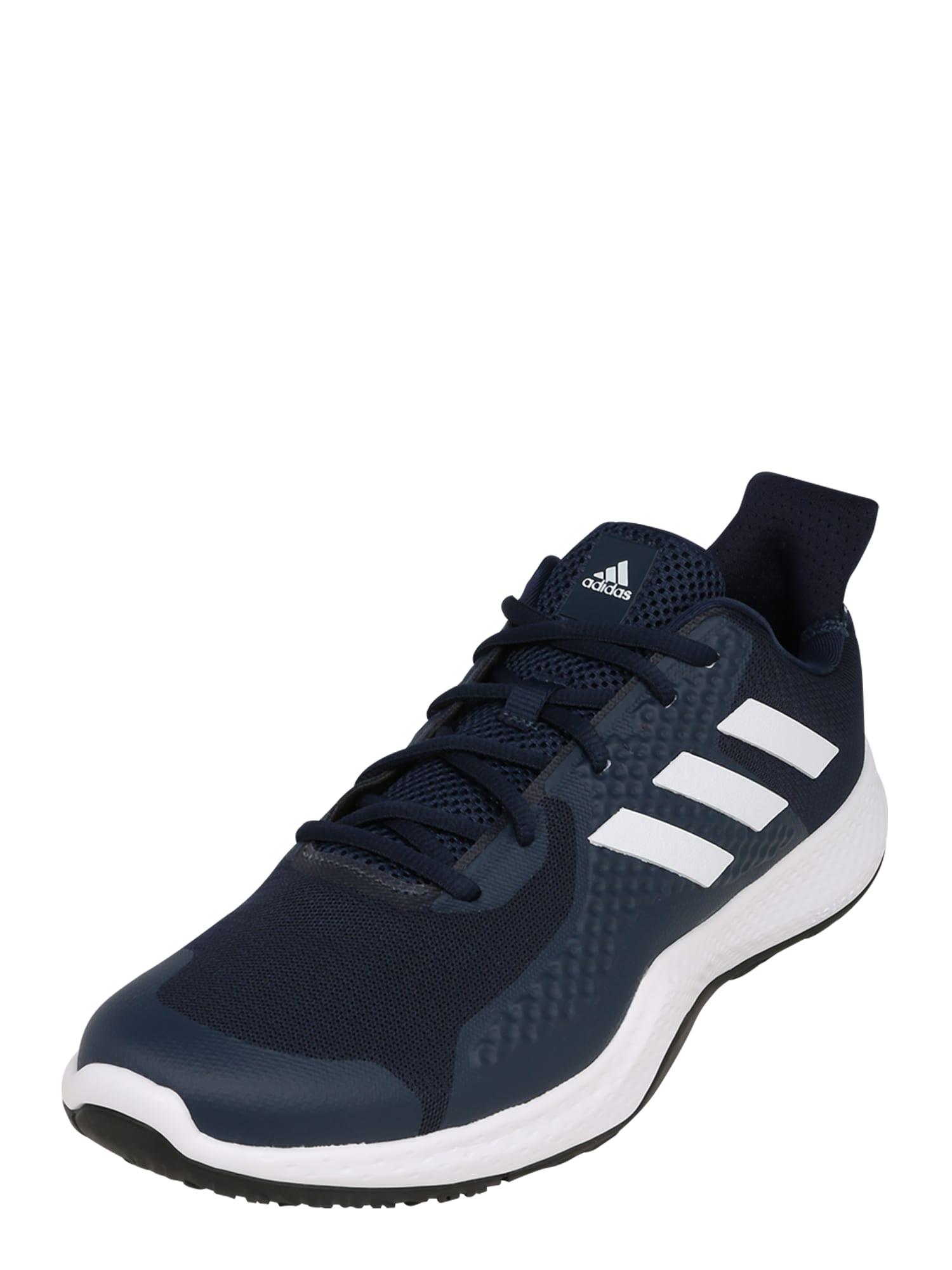 ADIDAS PERFORMANCE Sportovní boty 'FitBounce Trainer'  tmavě modrá / bílá