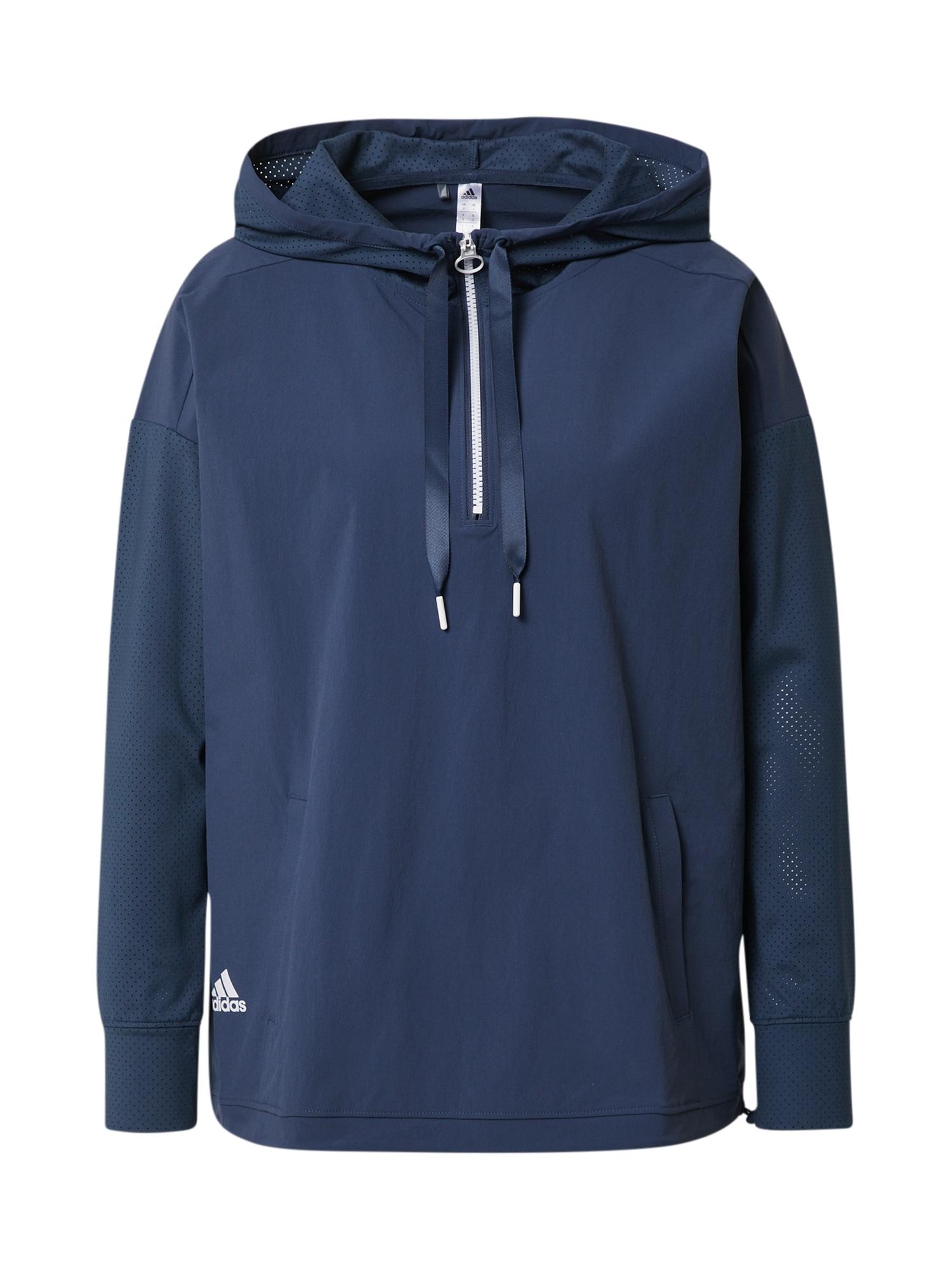 adidas Golf Sportinė striukė tamsiai mėlyna