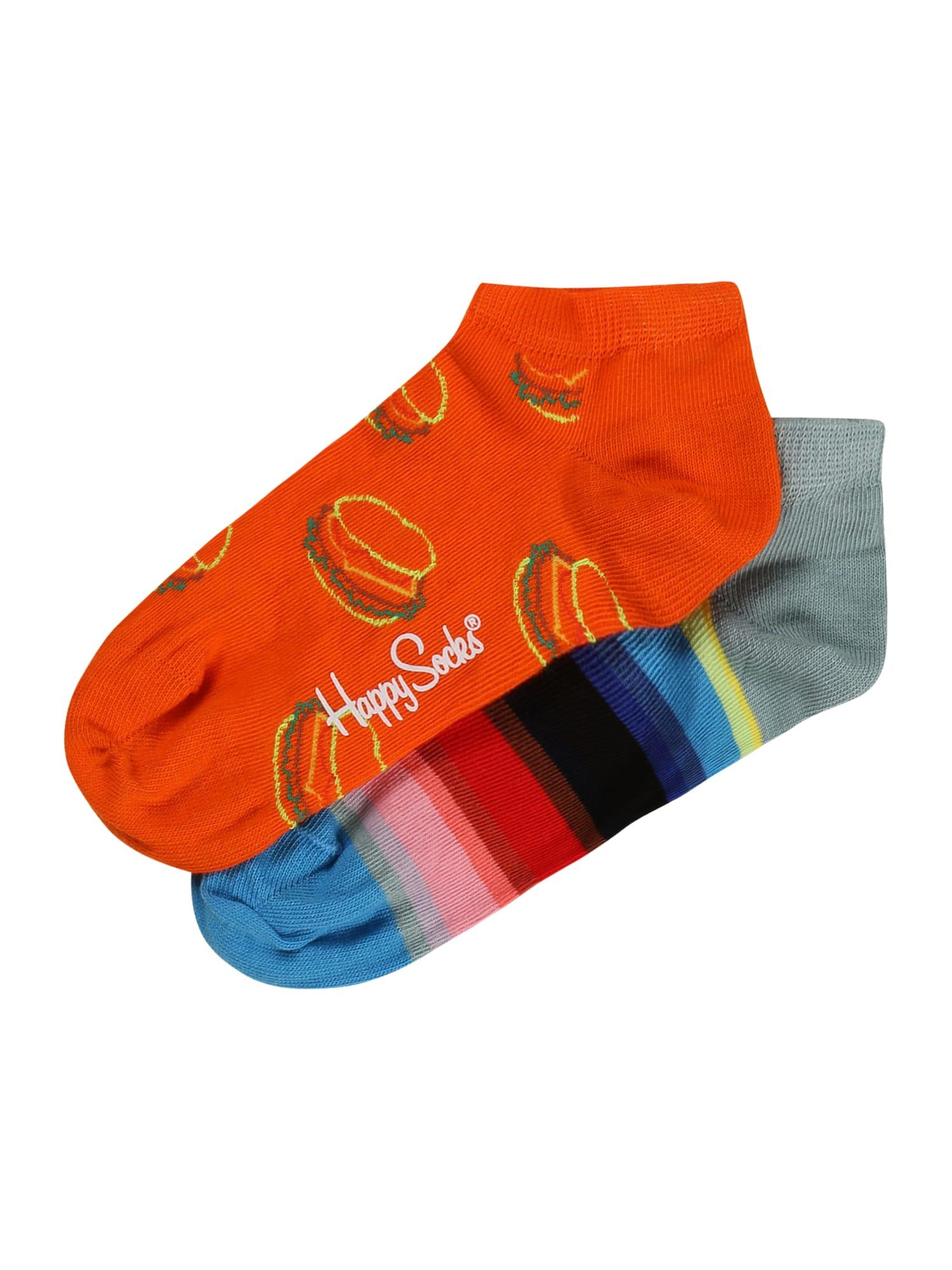 Happy Socks Kojinės mišrios spalvos / oranžinė