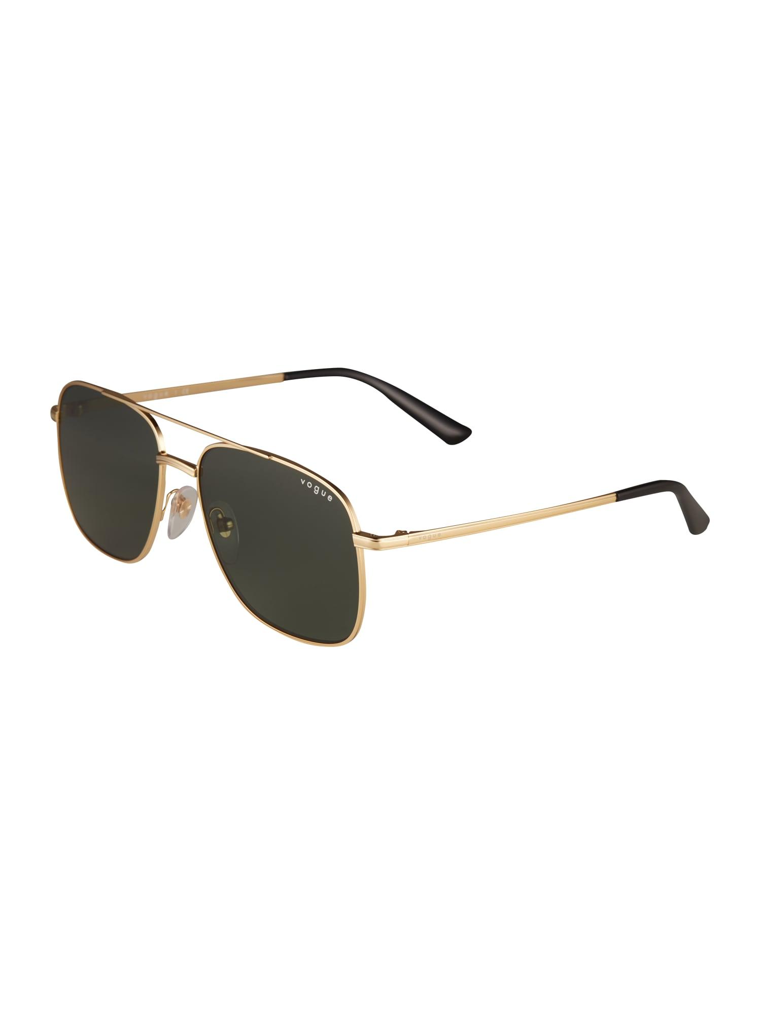 VOGUE Eyewear Akiniai nuo saulės '0VO4083SM' auksas / juoda
