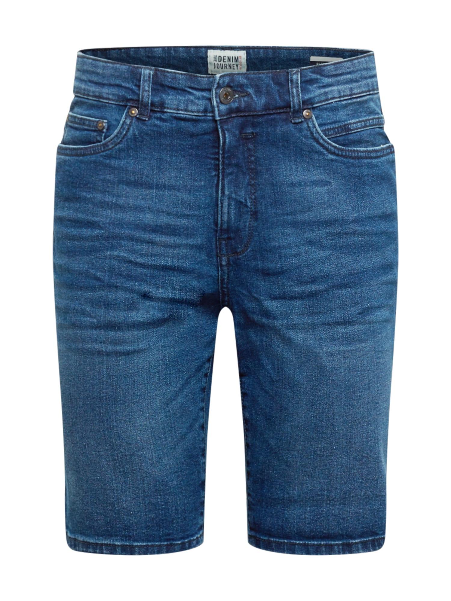 !Solid Džinsai tamsiai (džinso) mėlyna