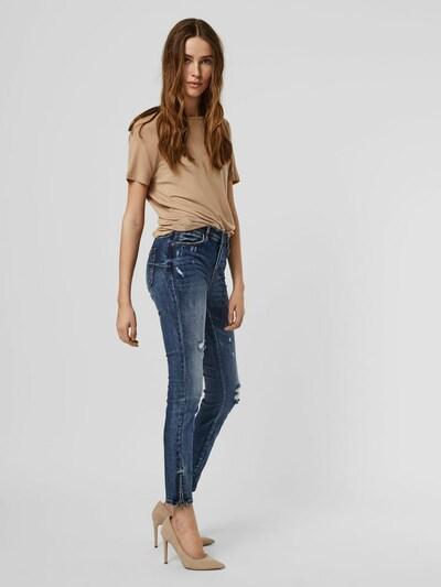 Vero Moda Tilde Jeans mit mittelhohem Bund und Knöchelreißverschluss