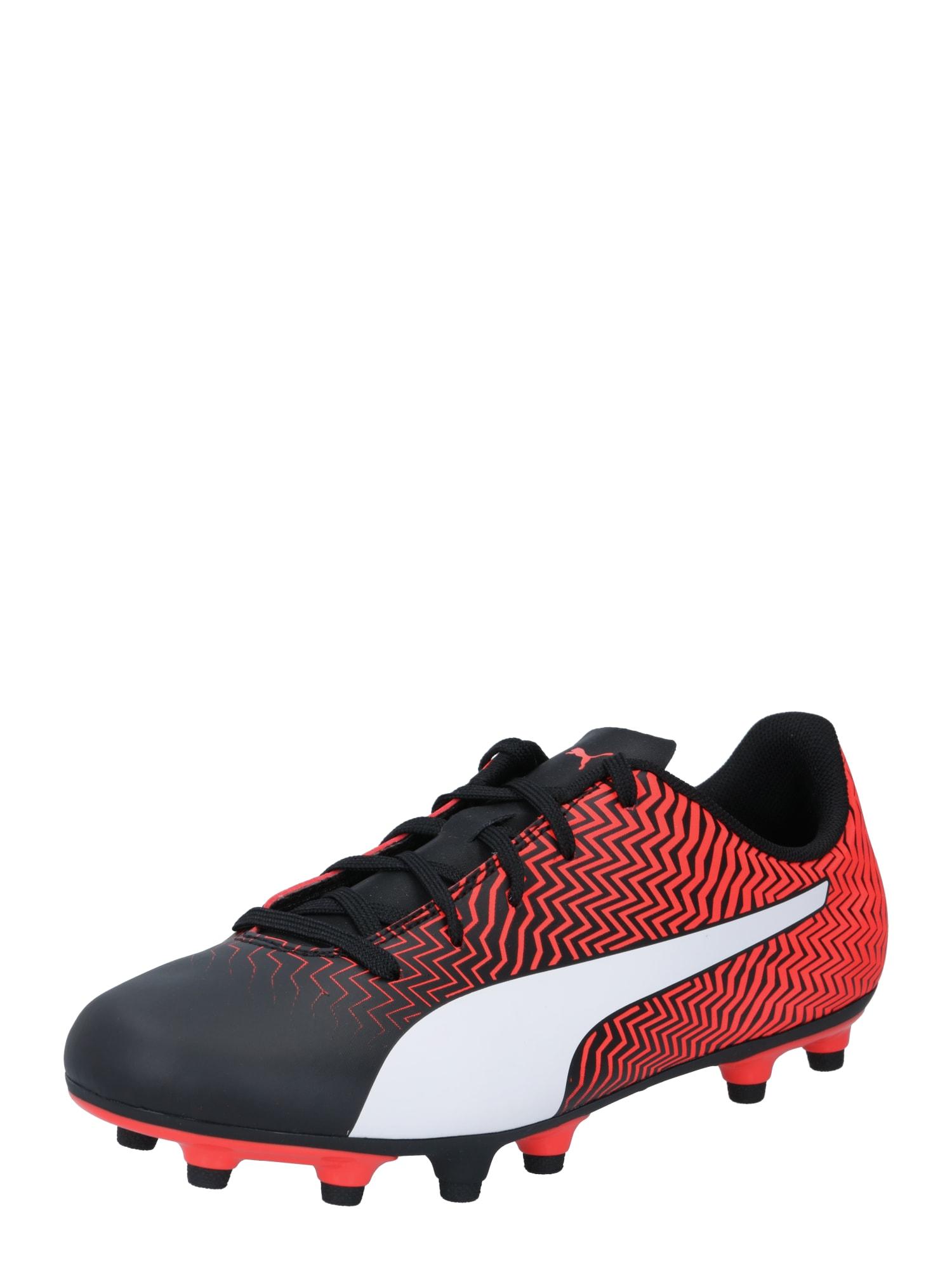 PUMA Sportiniai batai 'Rapido II' juoda / raudona / balta