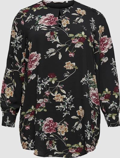 Only Carmakoma Luxmila Langarm-Bluse mit Aufdruck