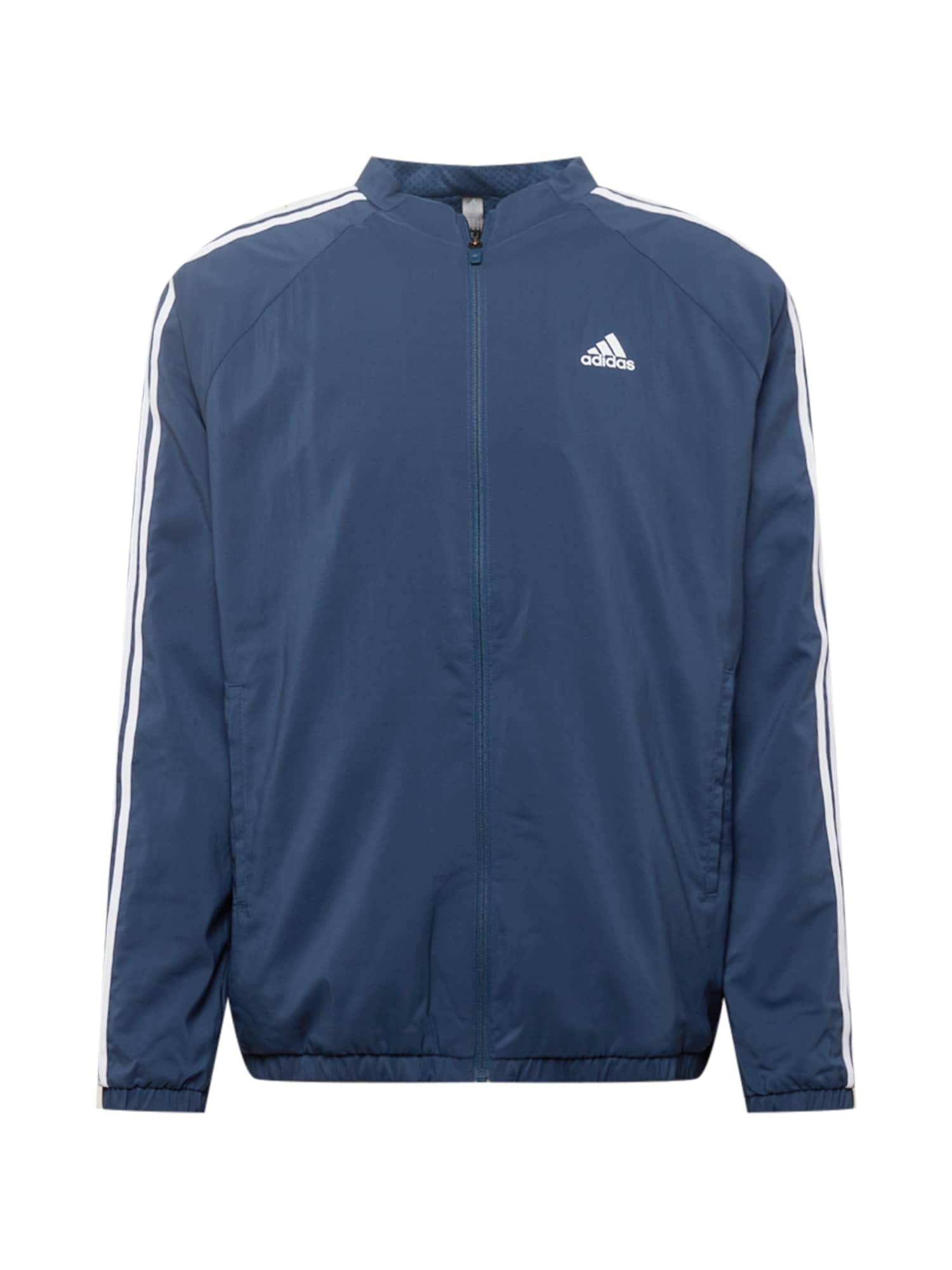adidas Golf Sportovní bunda  námořnická modř / bílá