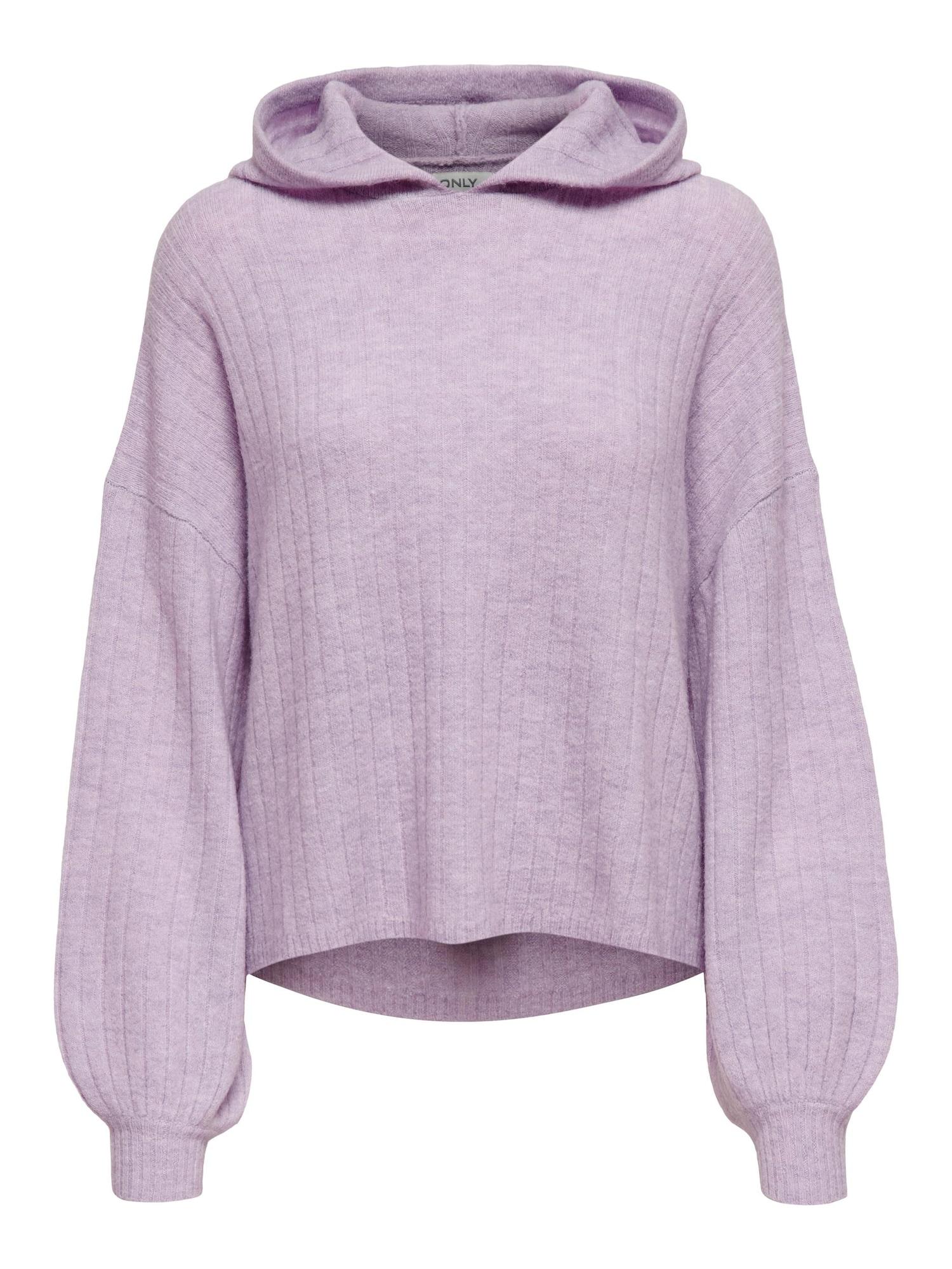 ONLY Megztinis 'Corrine' rausvai violetinė