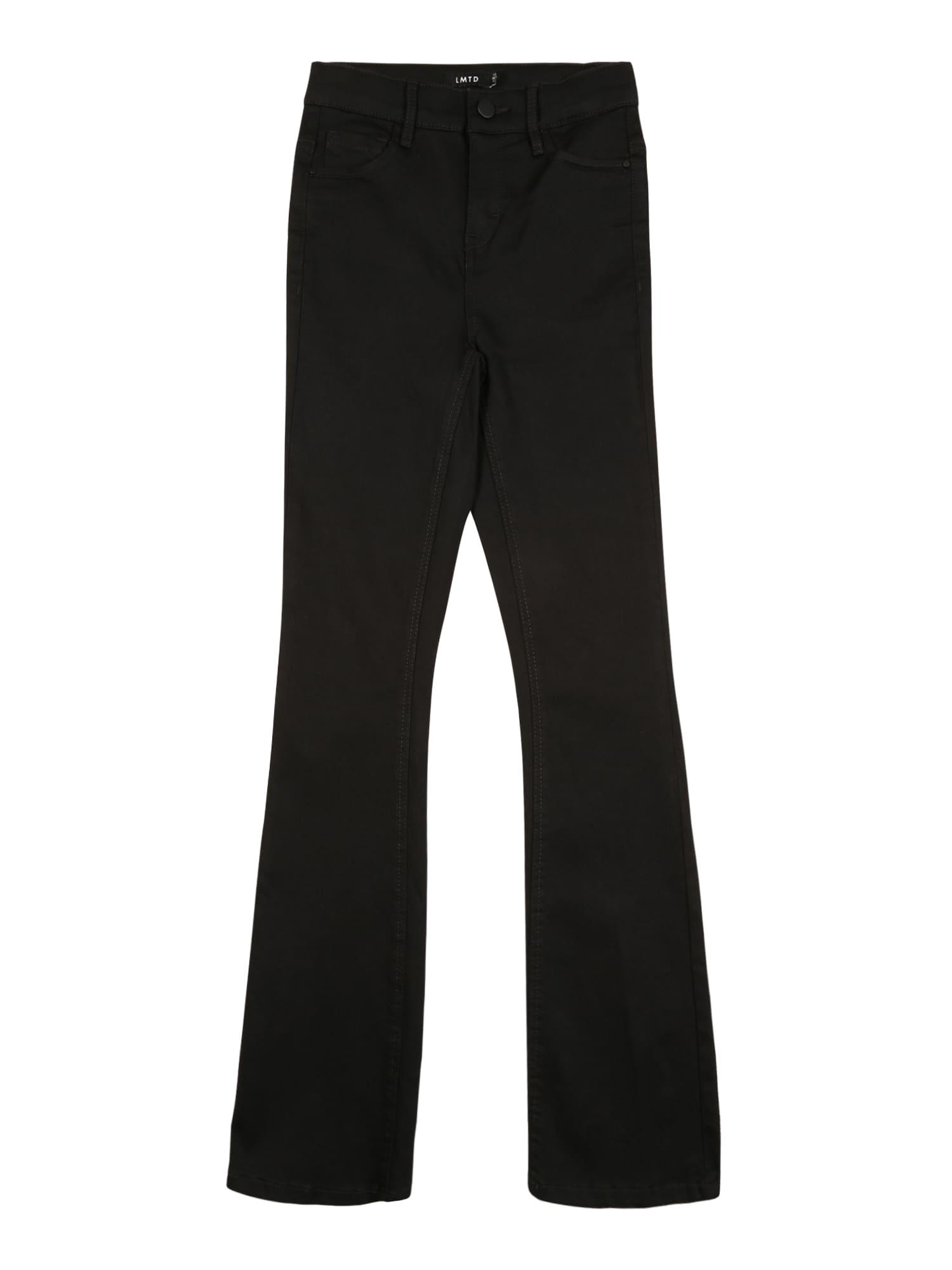 LMTD Džinsai 'NLFPIL' juodo džinso spalva