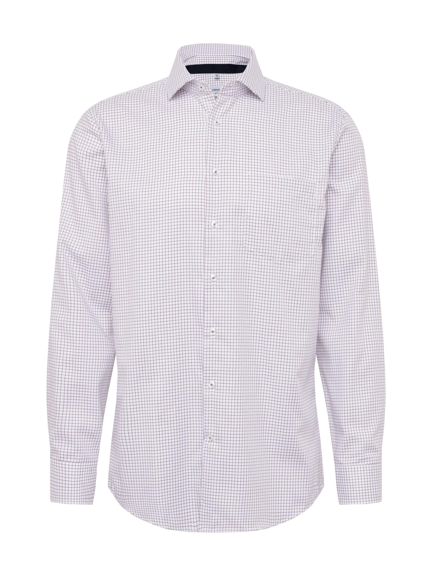 SEIDENSTICKER Marškiniai balta / rožių spalva