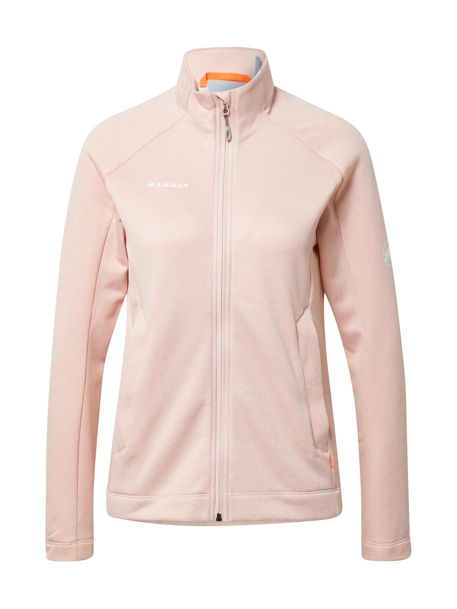 MAMMUT Sportinis džemperis ryškiai rožinė spalva