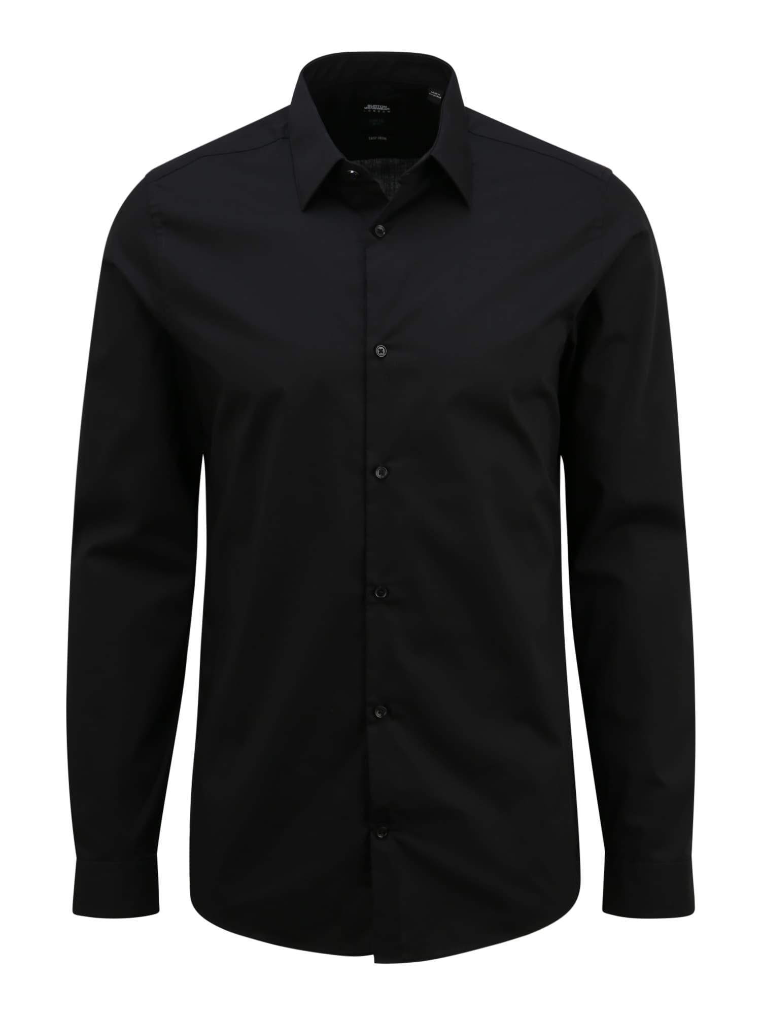 BURTON MENSWEAR LONDON (Big & Tall) Marškiniai juoda