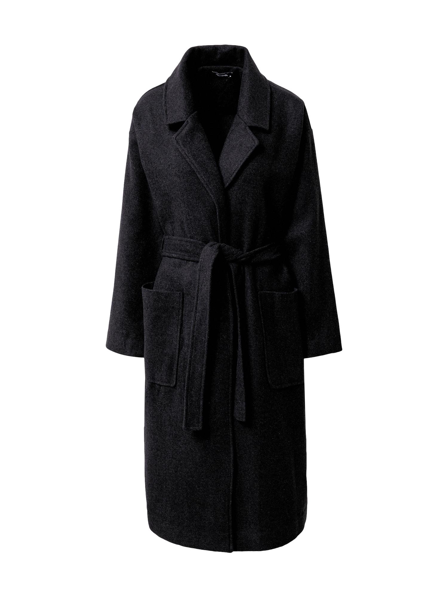 Trendyol Demisezoninis paltas antracito
