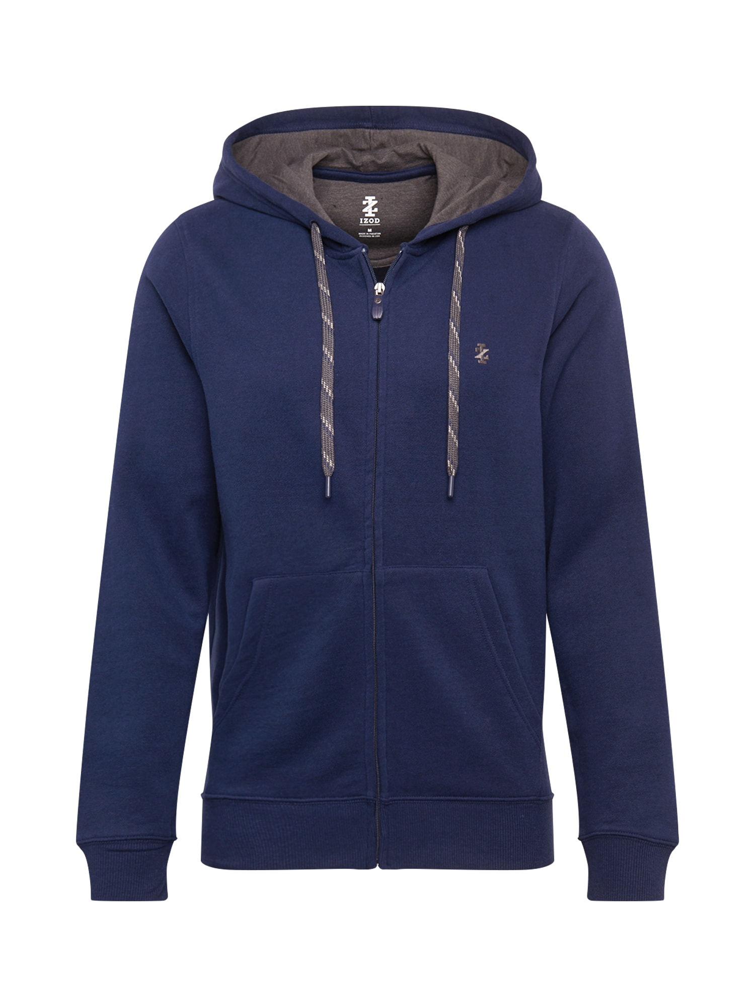IZOD Džemperis tamsiai mėlyna / pilka