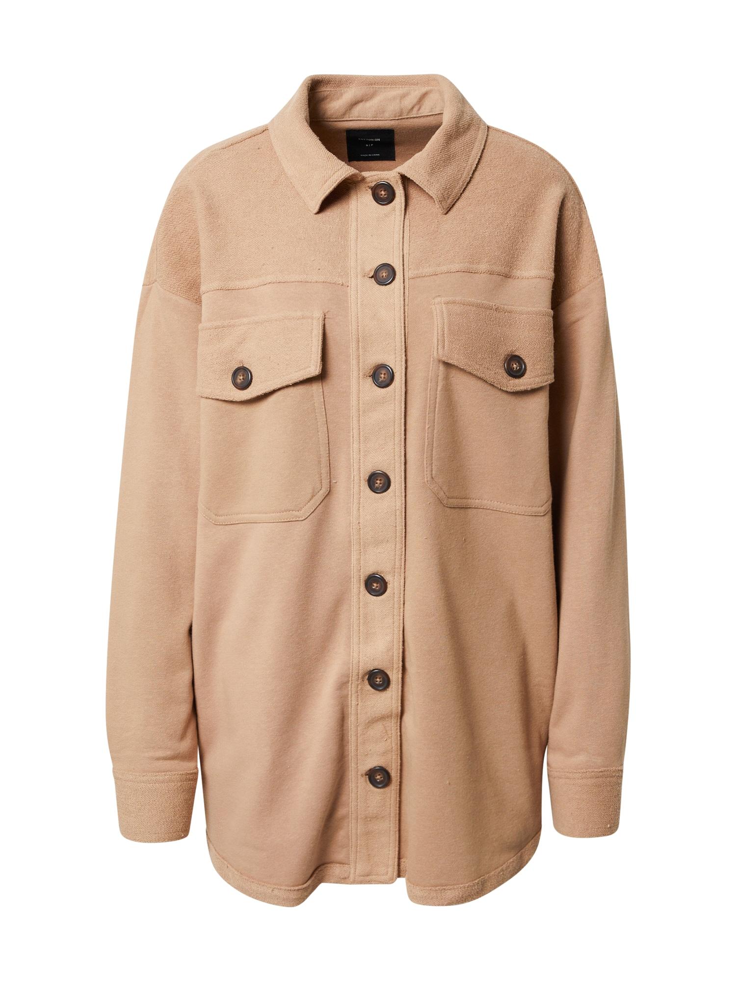 Cotton On Demisezoninė striukė šviesiai ruda
