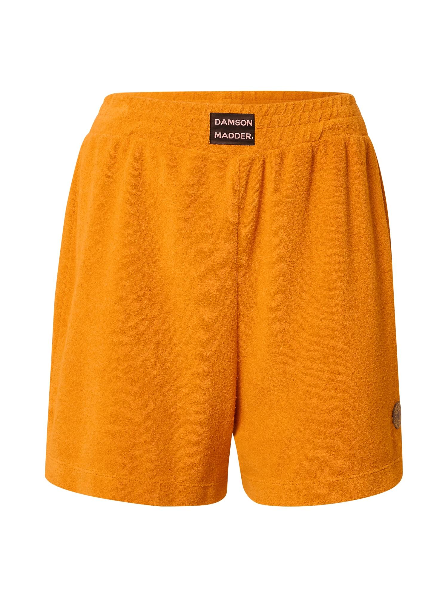 Damson Madder Kelnės šviesiai oranžinė / balta / juoda