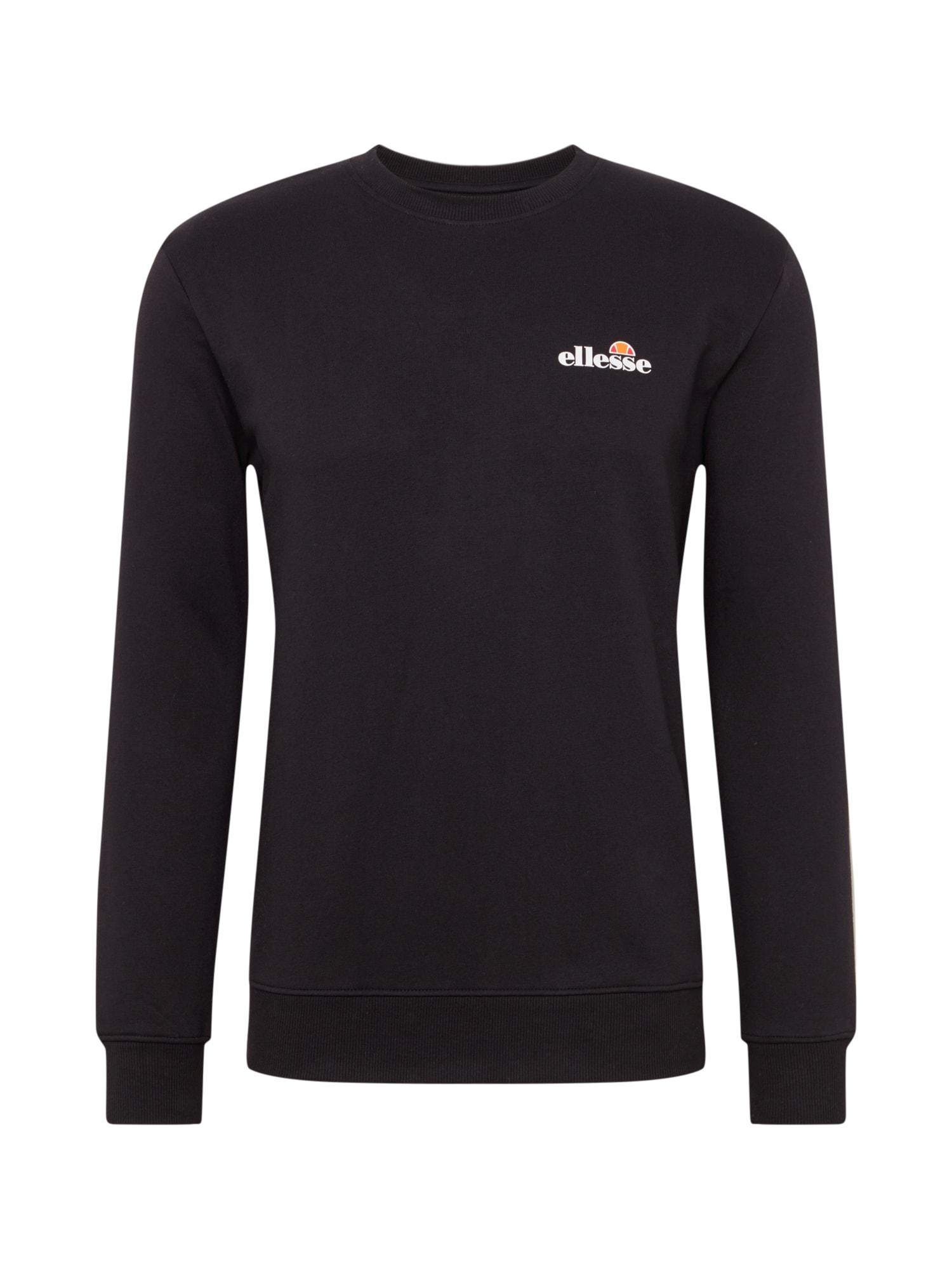 ELLESSE Sportinio tipo megztinis juoda