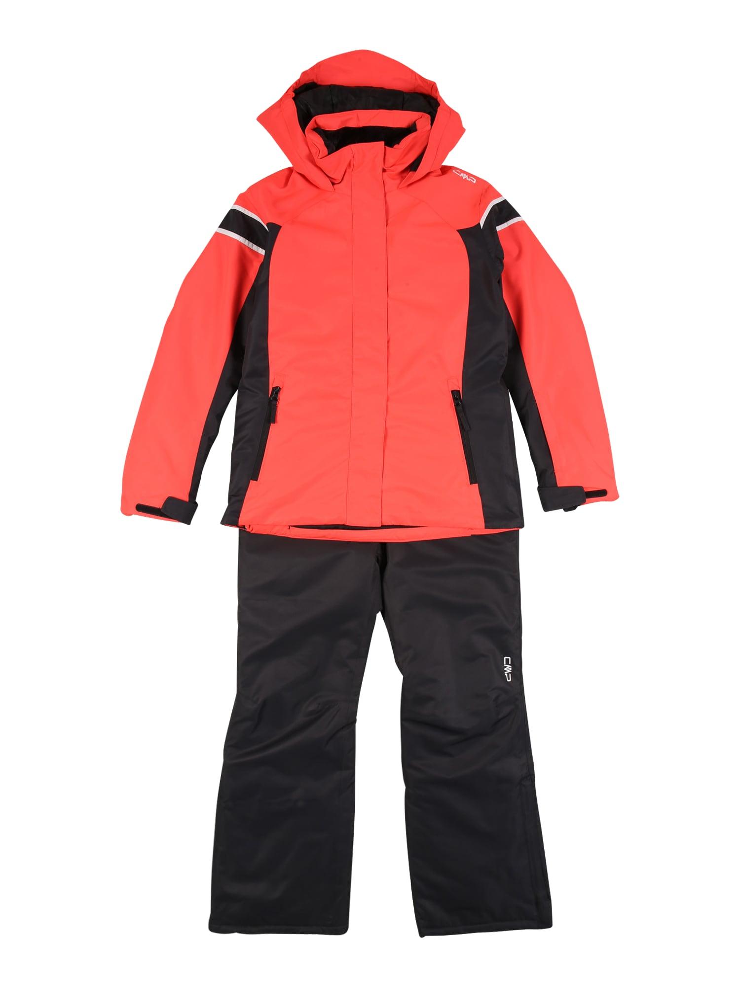 CMP Sportinis kostiumas raudona / juoda