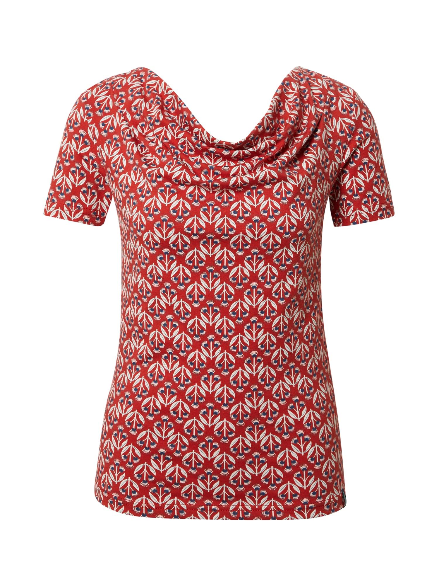 Tranquillo Marškinėliai raudona / tamsiai mėlyna / balta