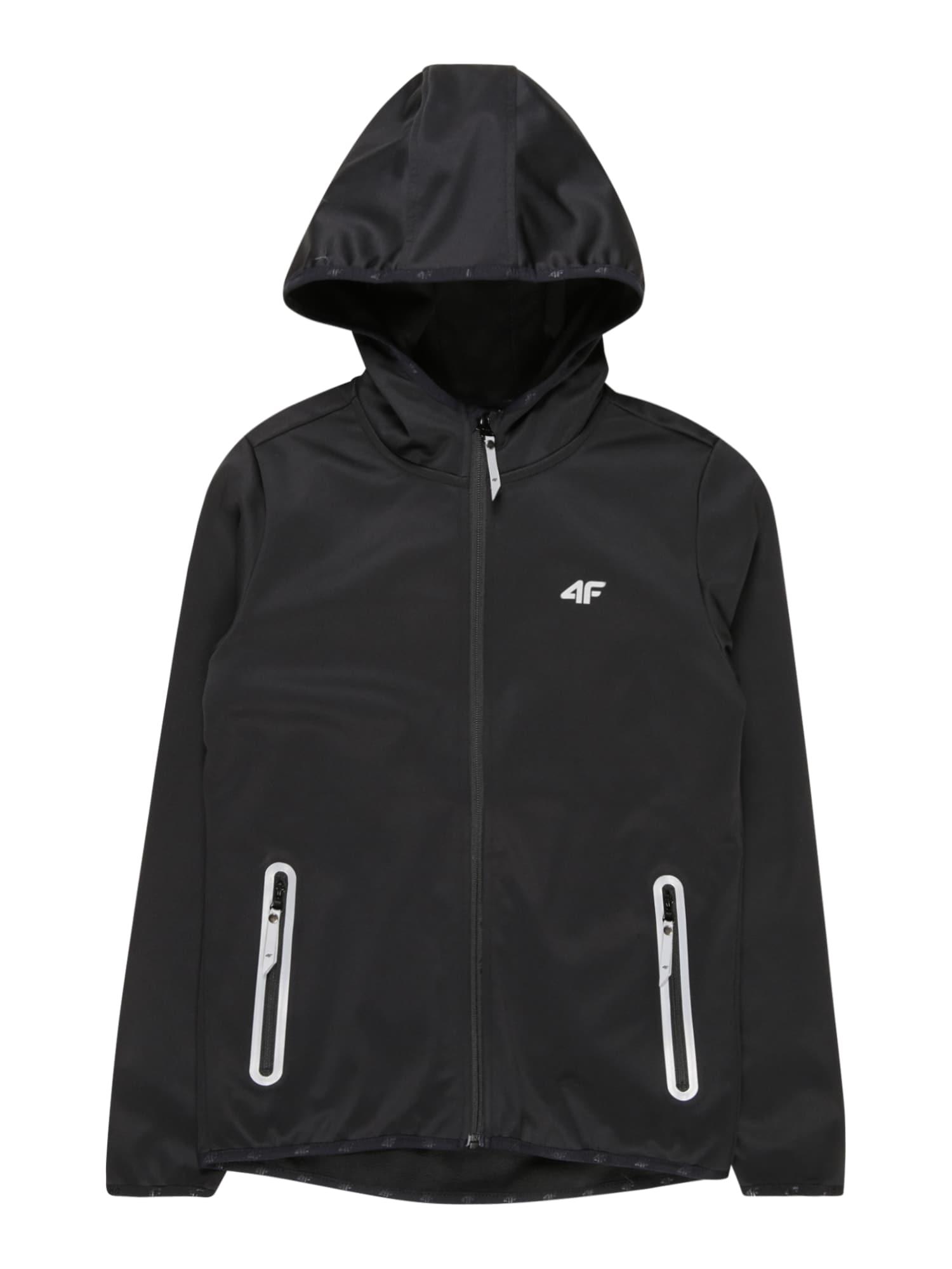 4F Sportinė striukė juoda
