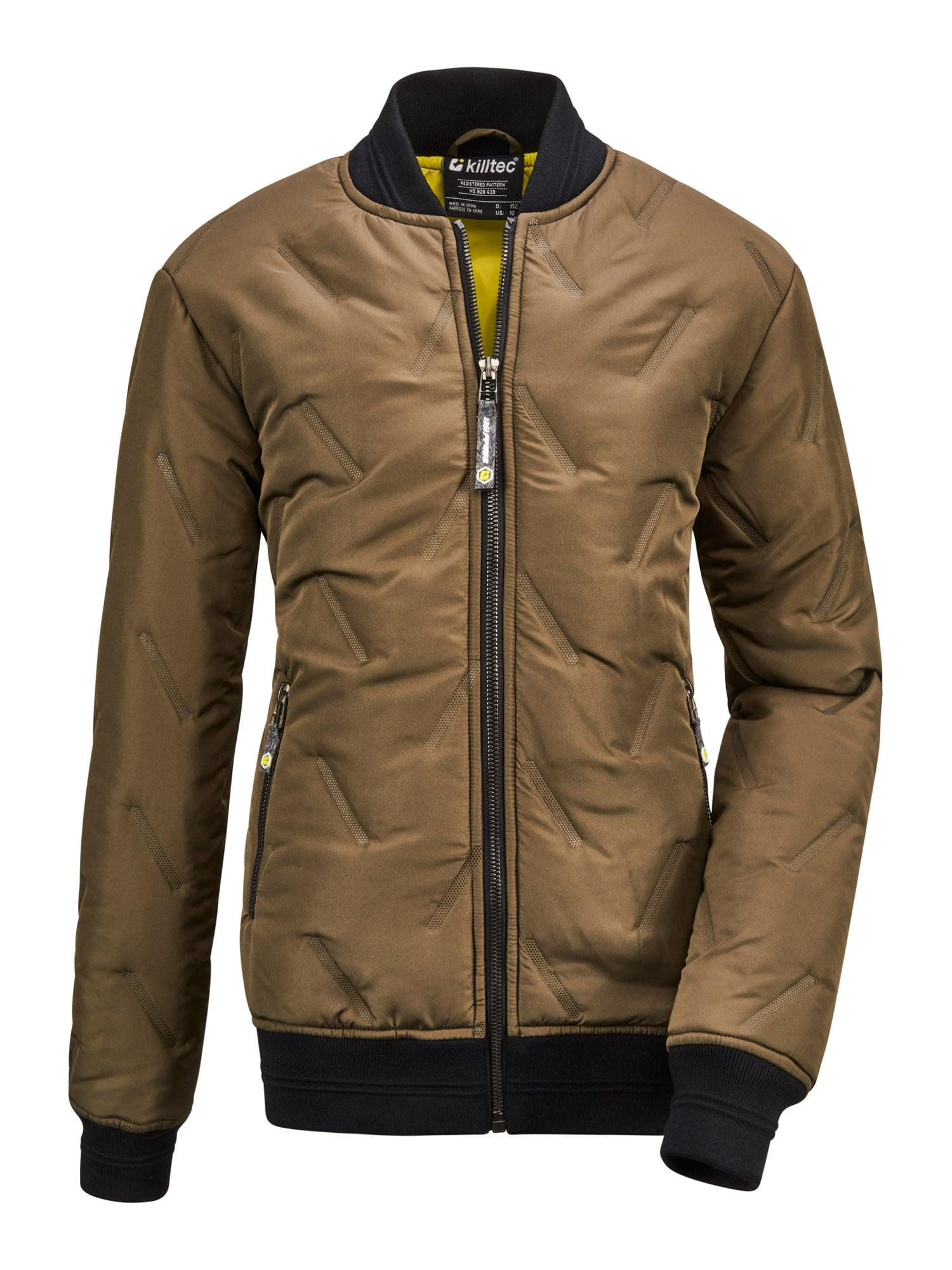 KILLTEC Outdoorová bunda 'Bantry'  olivová / noční modrá