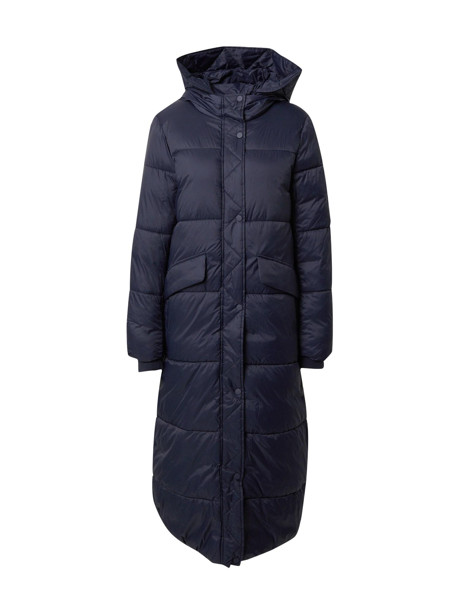 EDC BY ESPRIT Zimní kabát  modrá