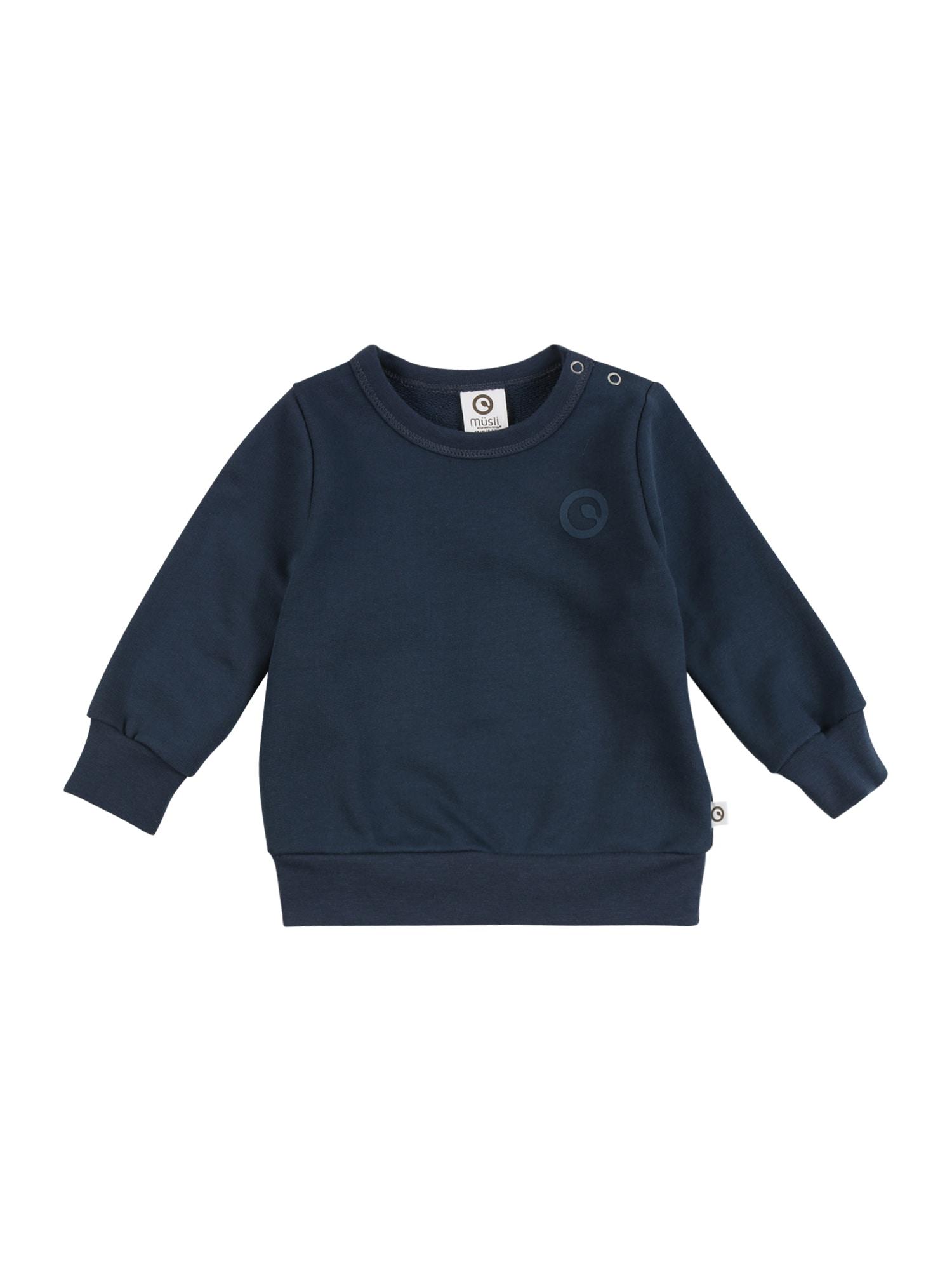 Müsli by GREEN COTTON Megztinis be užsegimo tamsiai mėlyna