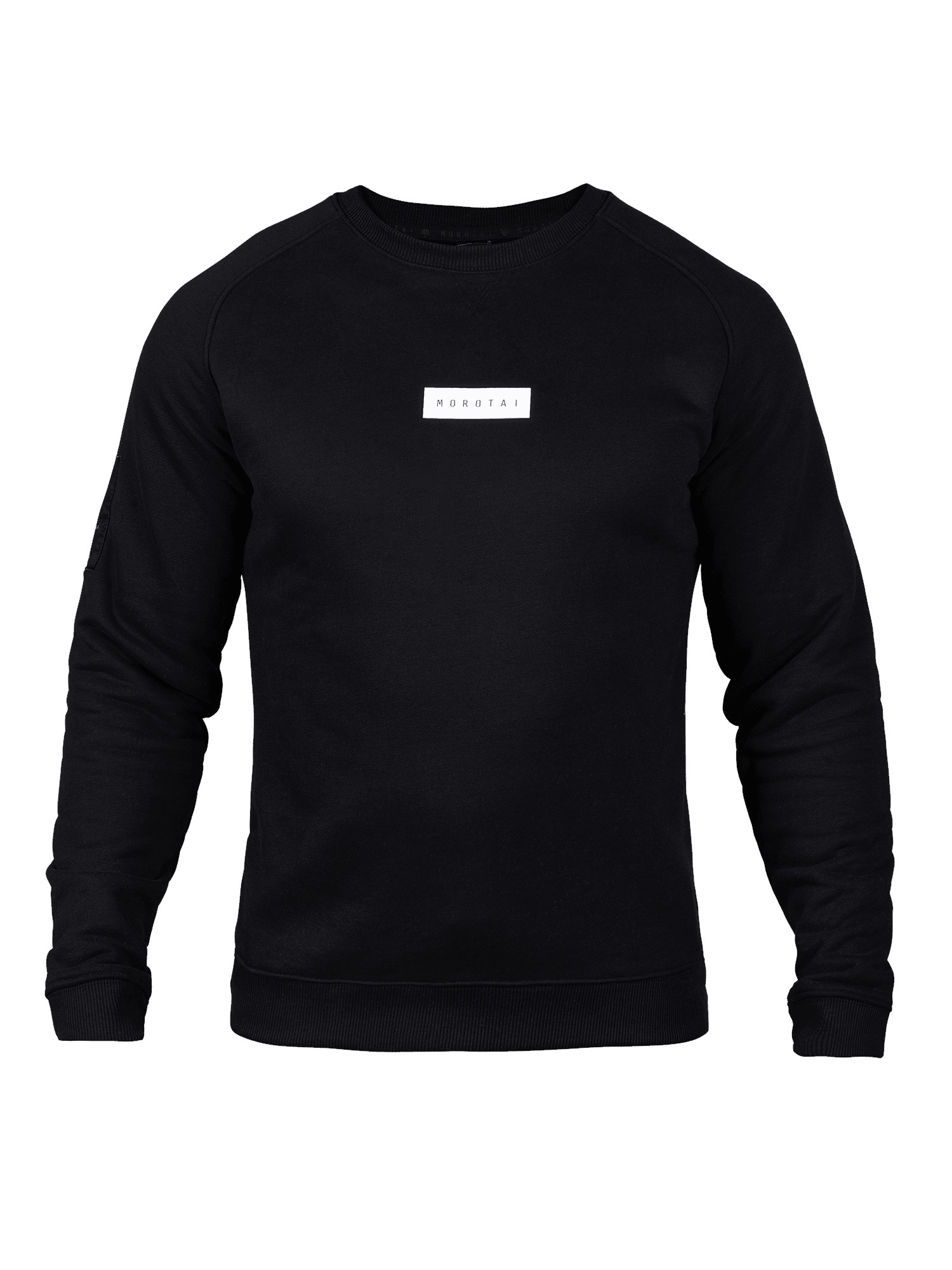 MOROTAI Sportinio tipo megztinis juoda