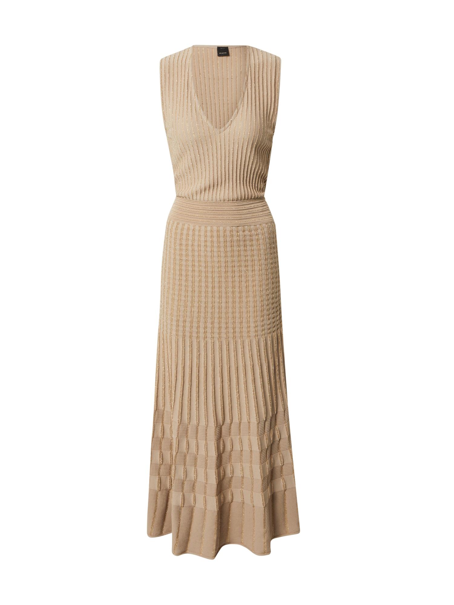 PINKO Megzta suknelė