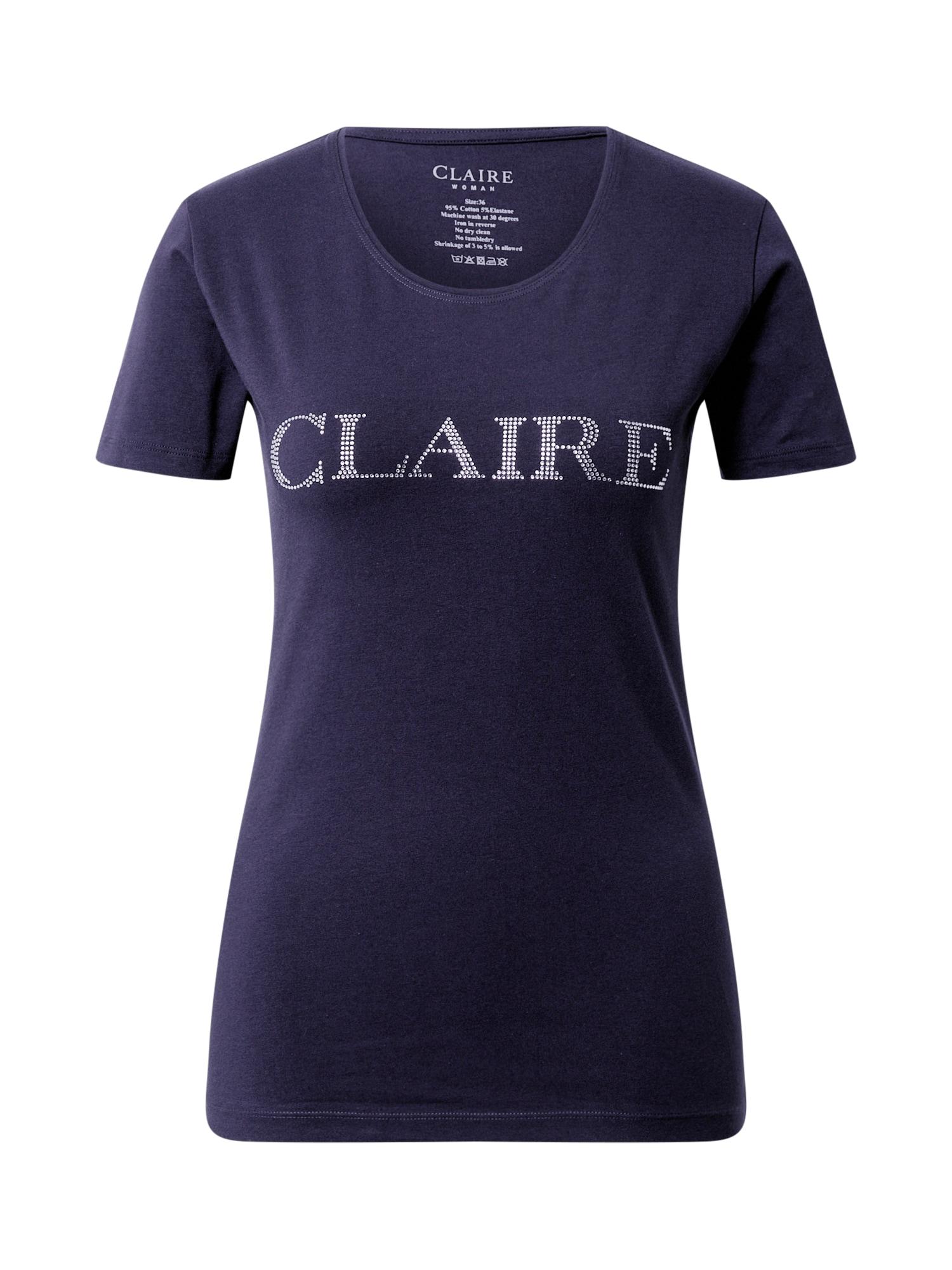 Claire Marškinėliai tamsiai mėlyna
