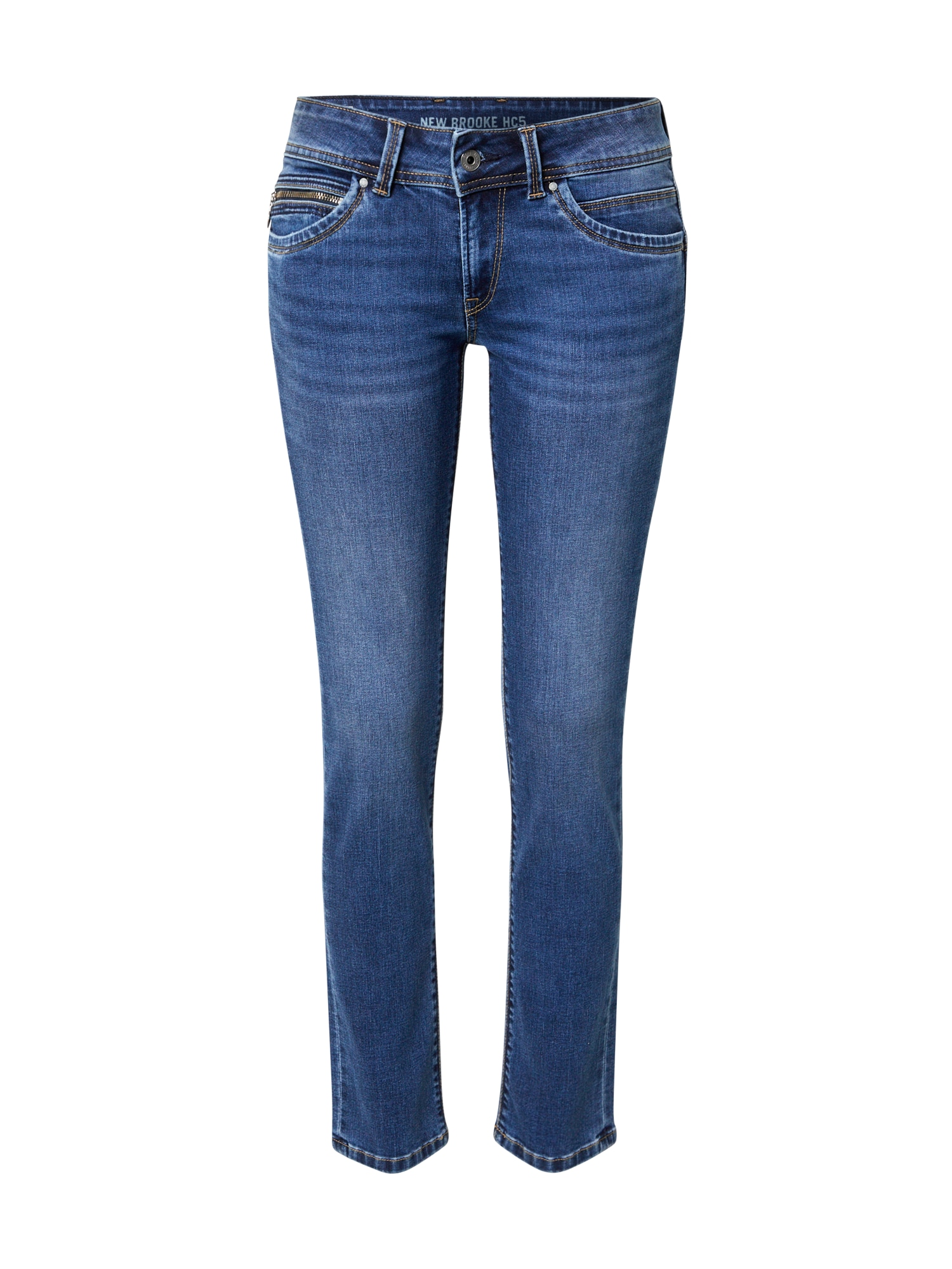 Pepe Jeans Džíny 'New Brooke'  modrá džínovina