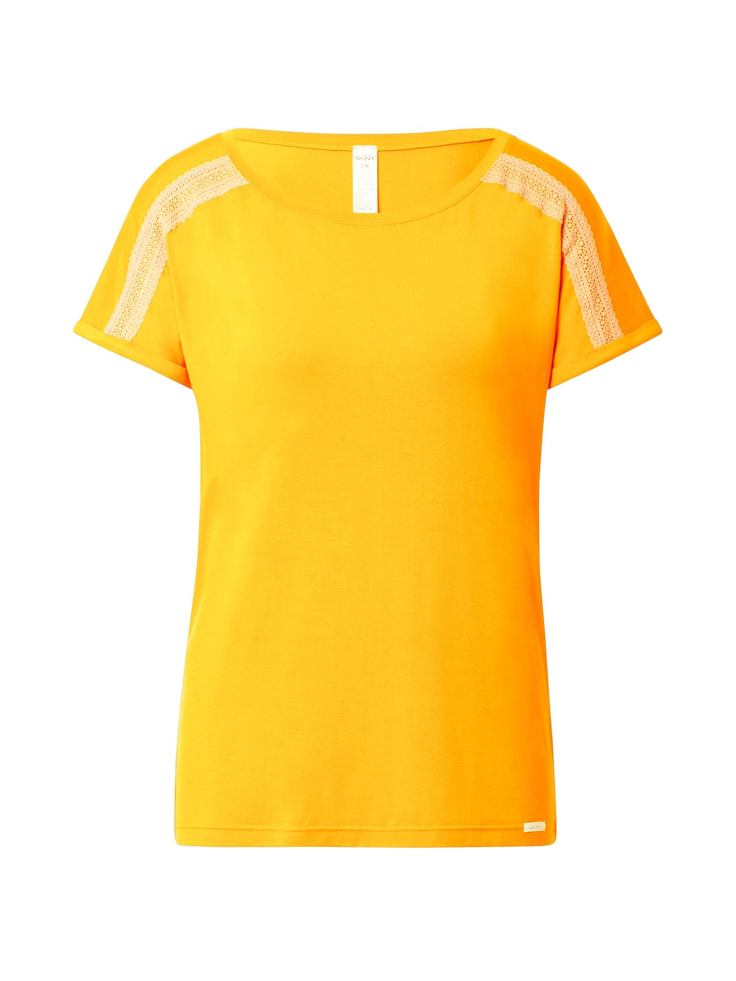 Skiny Pižaminiai marškinėliai geltona