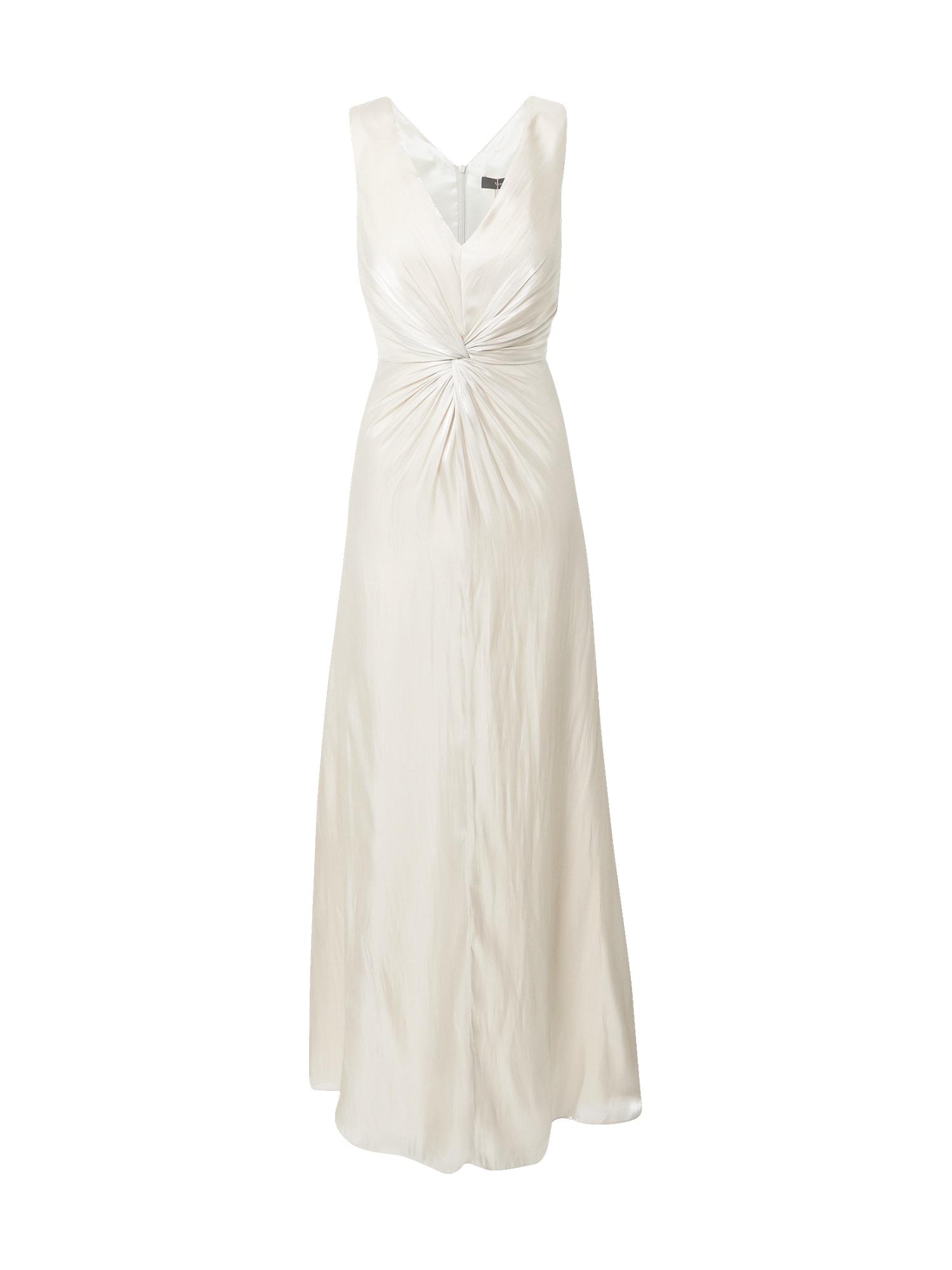 Vera Mont Vakarinė suknelė perlų balta