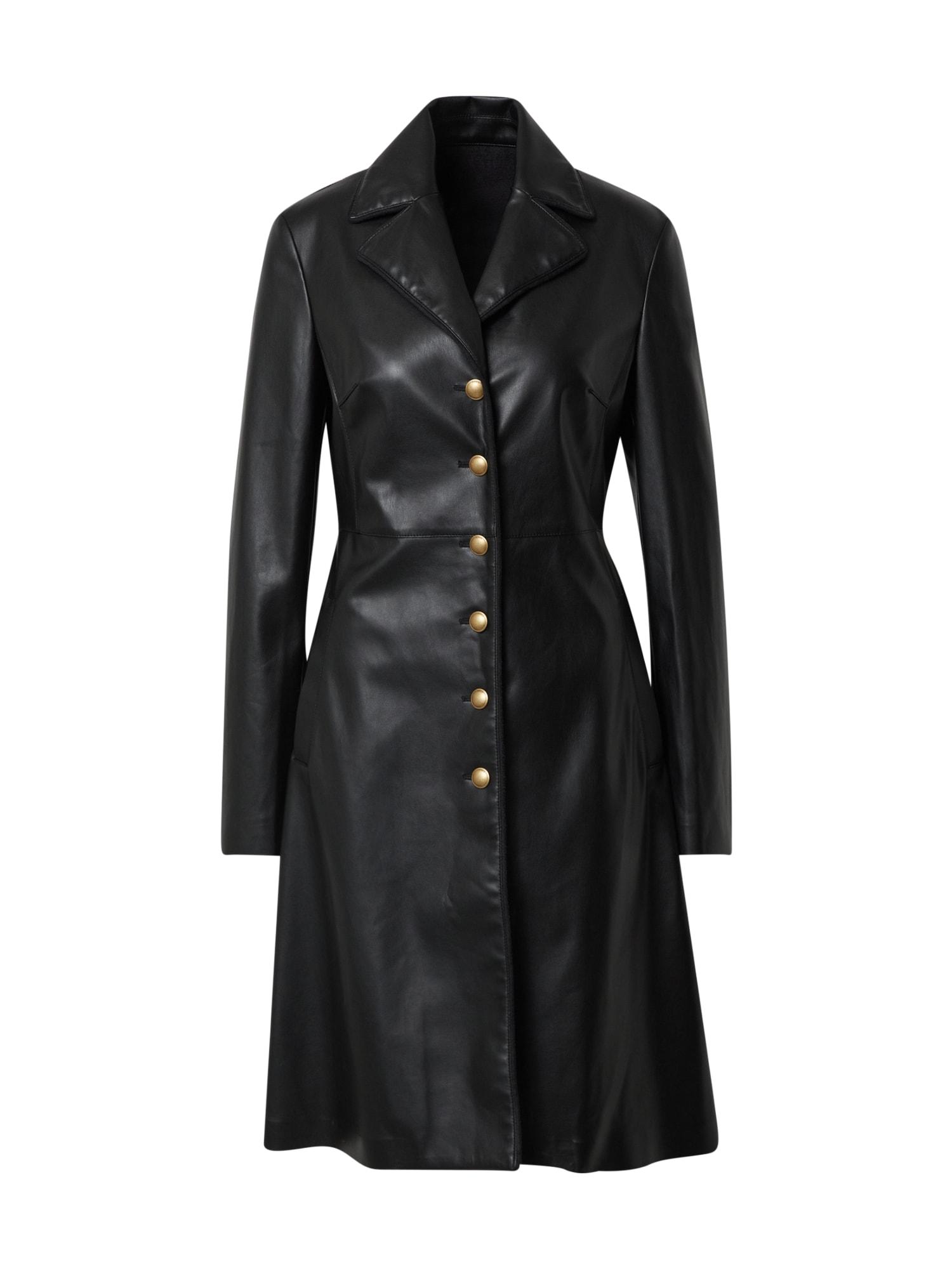 PINKO Demisezoninis paltas 'PIGRO' juoda