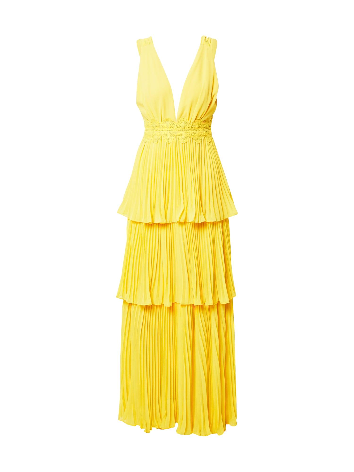 True Decadence Suknelė geltona