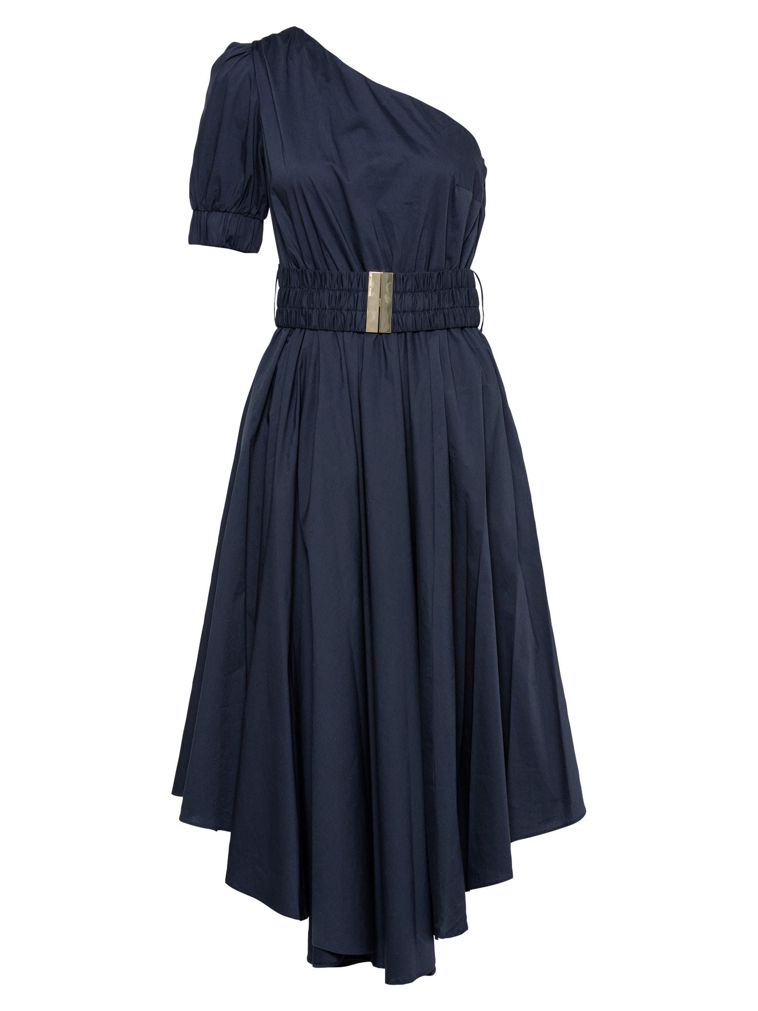 MICHAEL Michael Kors Kokteilinė suknelė tamsiai mėlyna