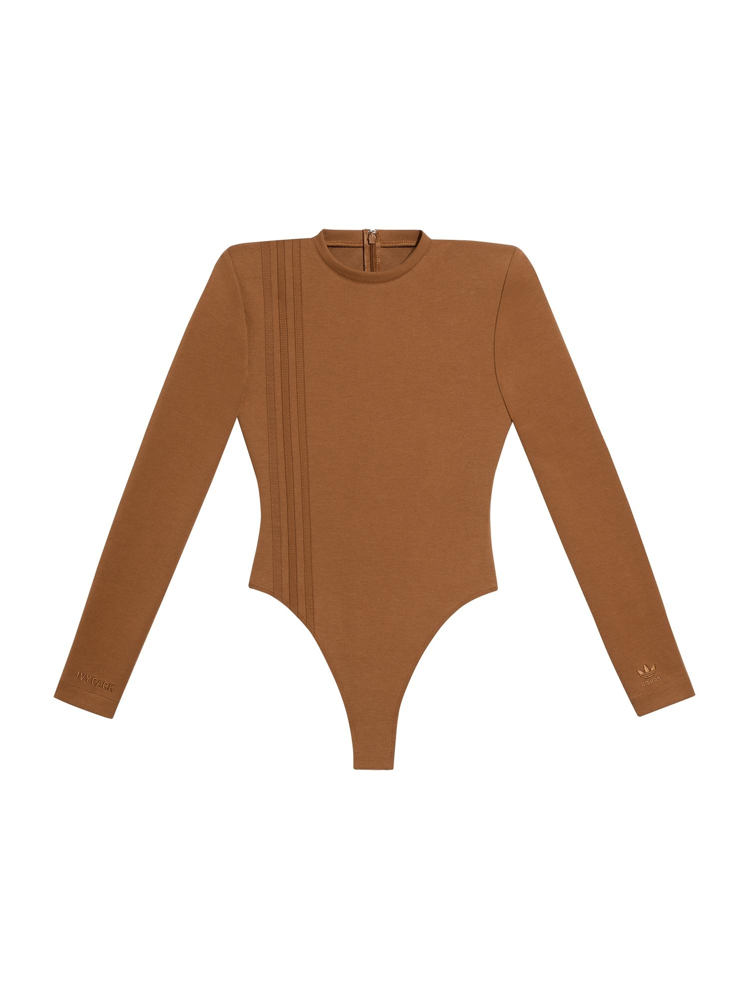 ADIDAS ORIGINALS Marškinėliai-glaustinukė ruda
