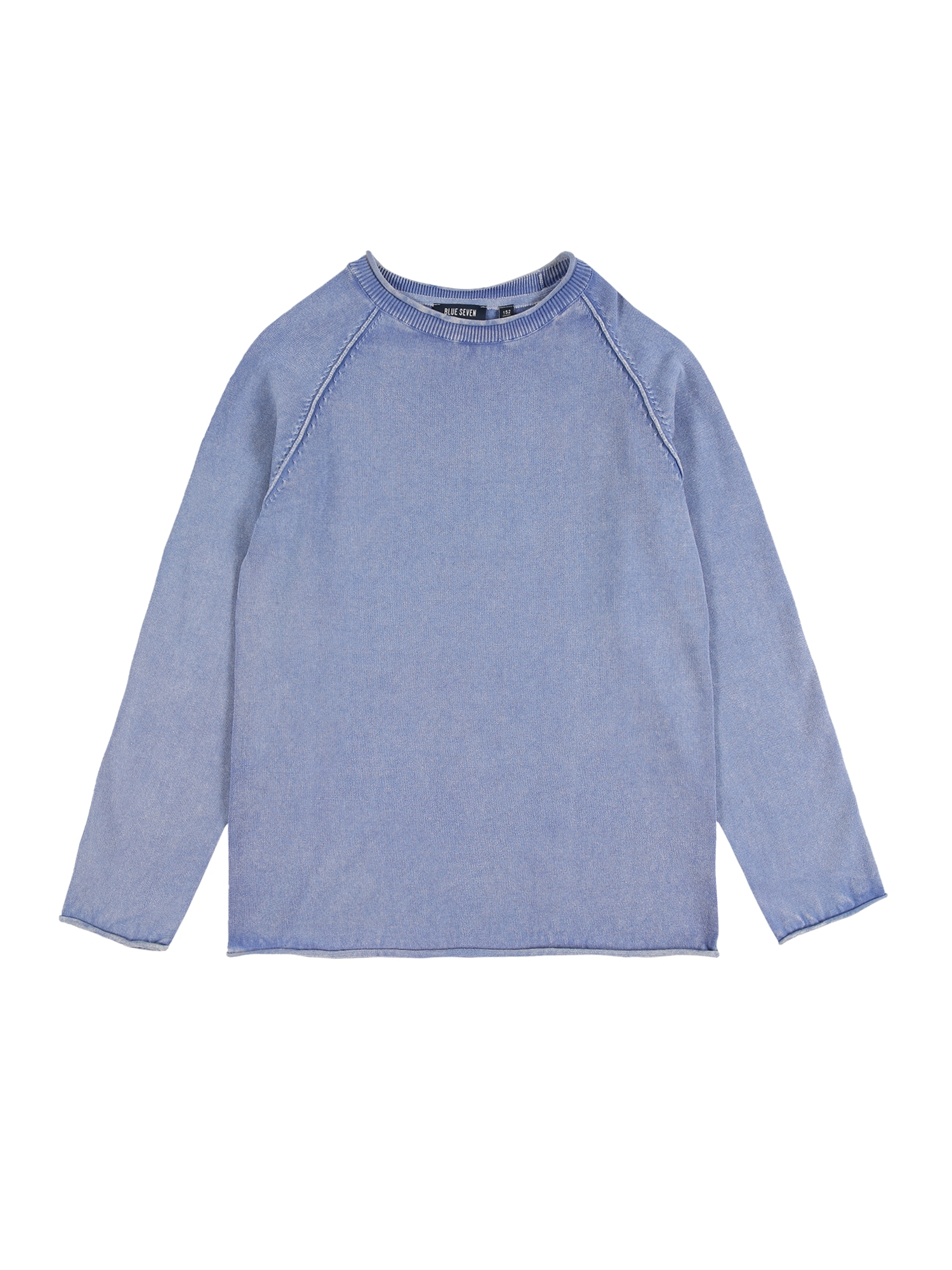 BLUE SEVEN Megztinis mėlyna dūmų spalva