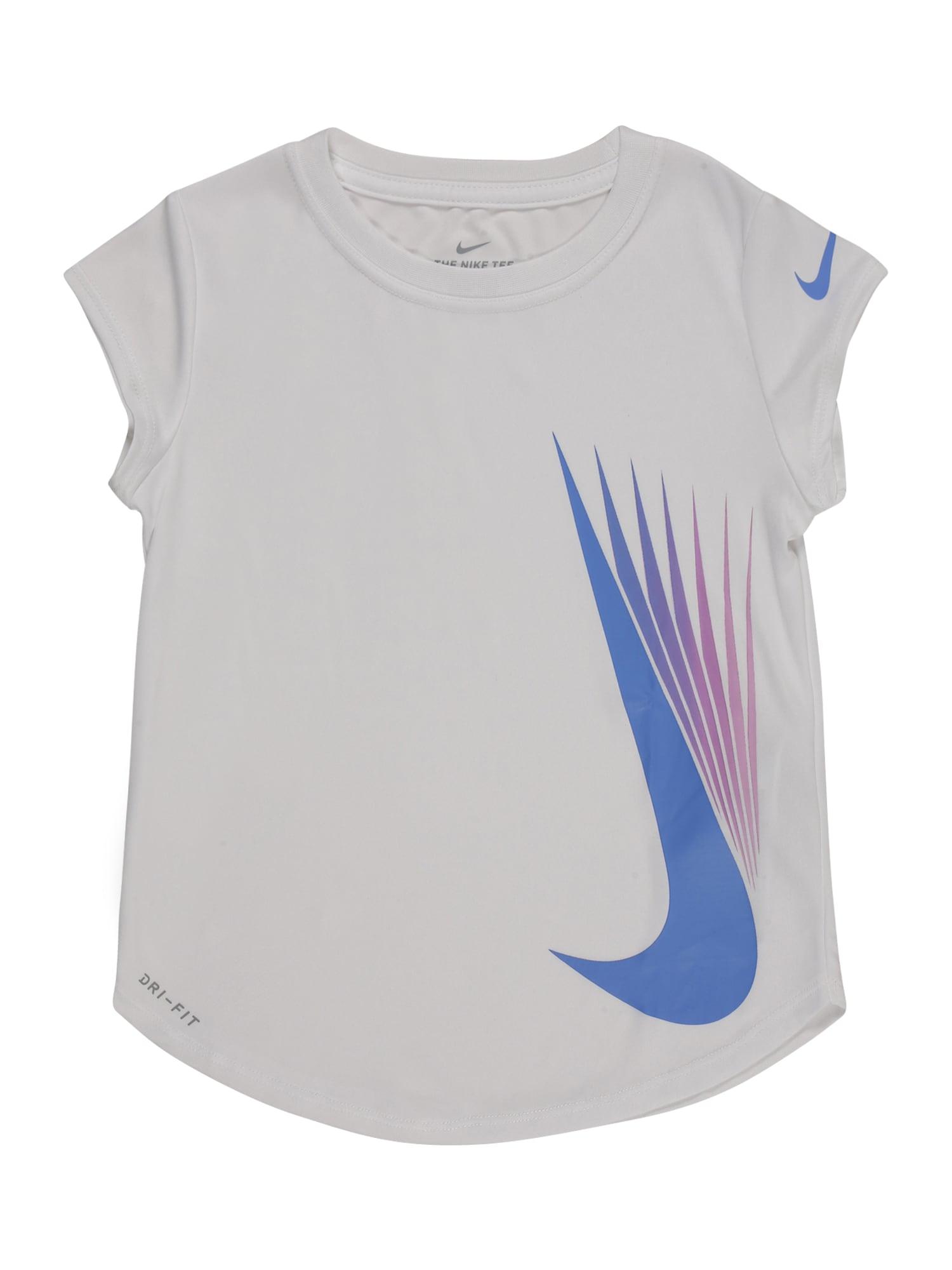NIKE Sportiniai marškinėliai balta / mišrios spalvos