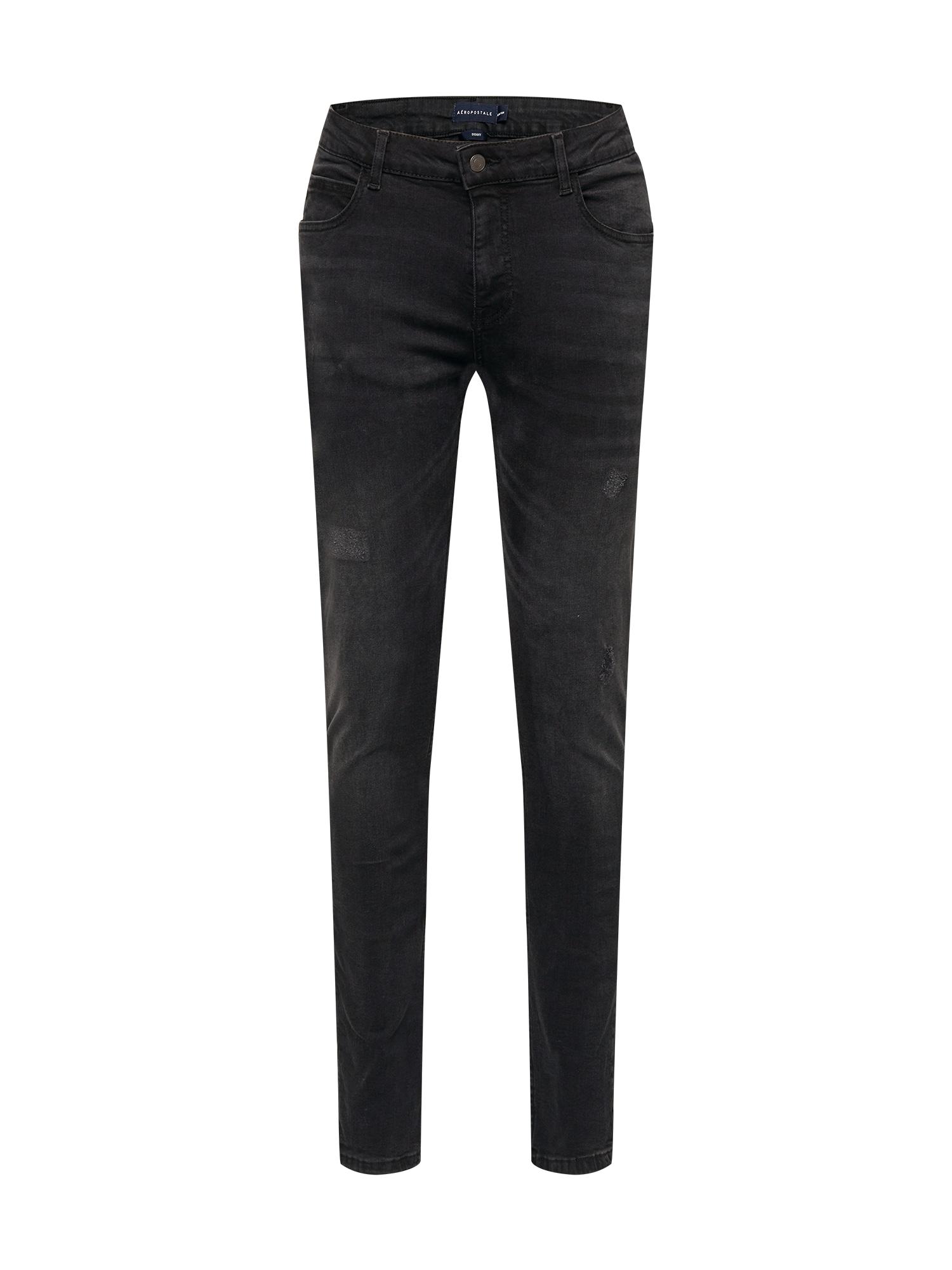 AÈROPOSTALE Džinsai juodo džinso spalva