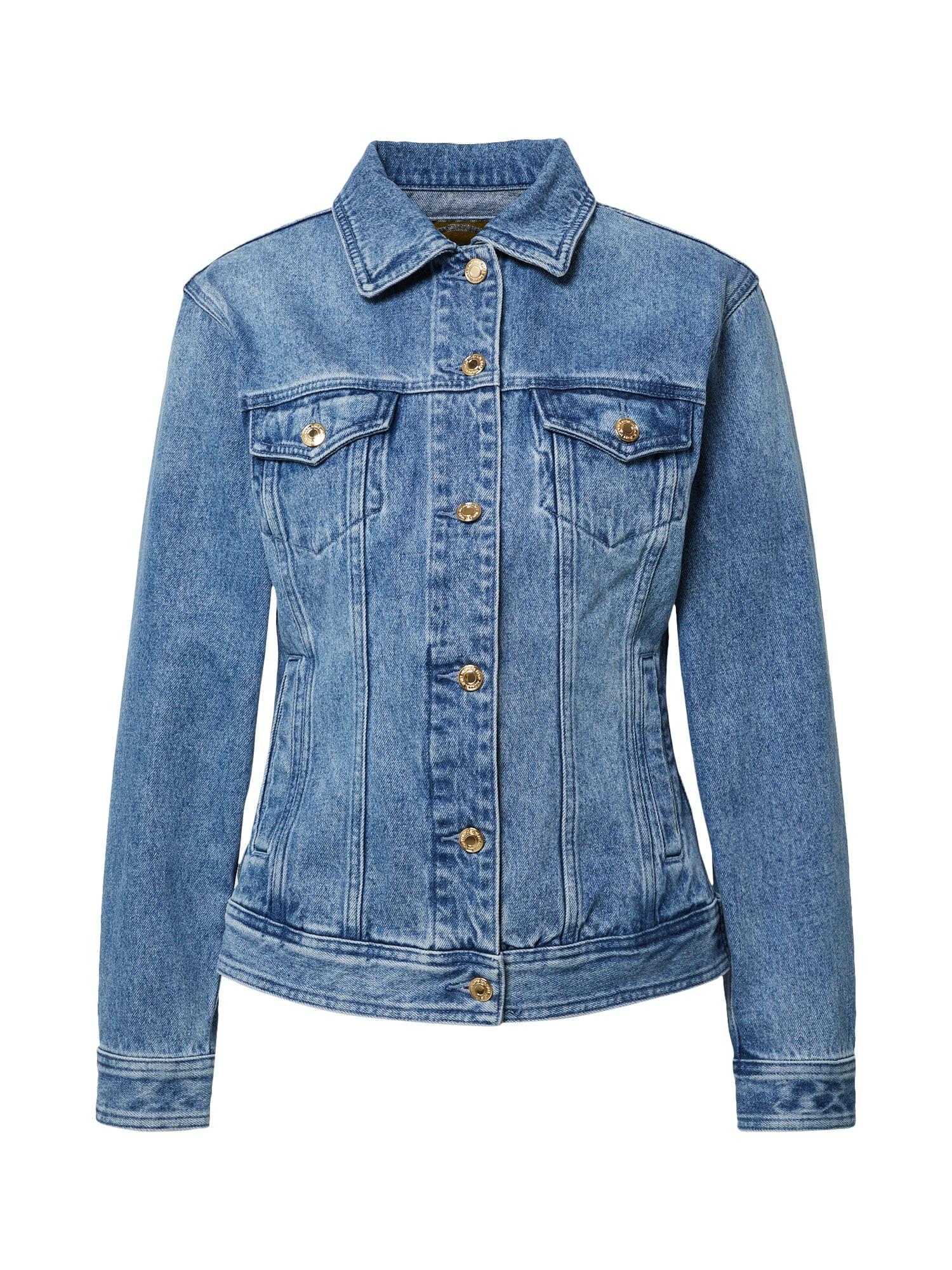 MICHAEL Michael Kors Demisezoninė striukė tamsiai (džinso) mėlyna