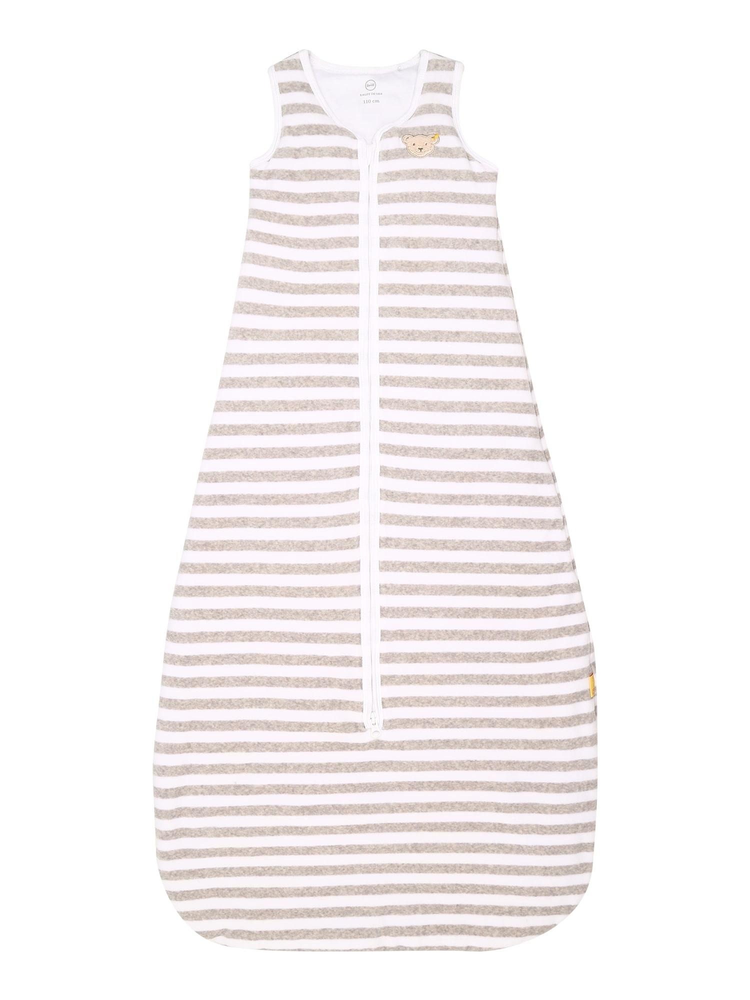 Steiff Collection Miegmaišis šviesiai pilka / balta