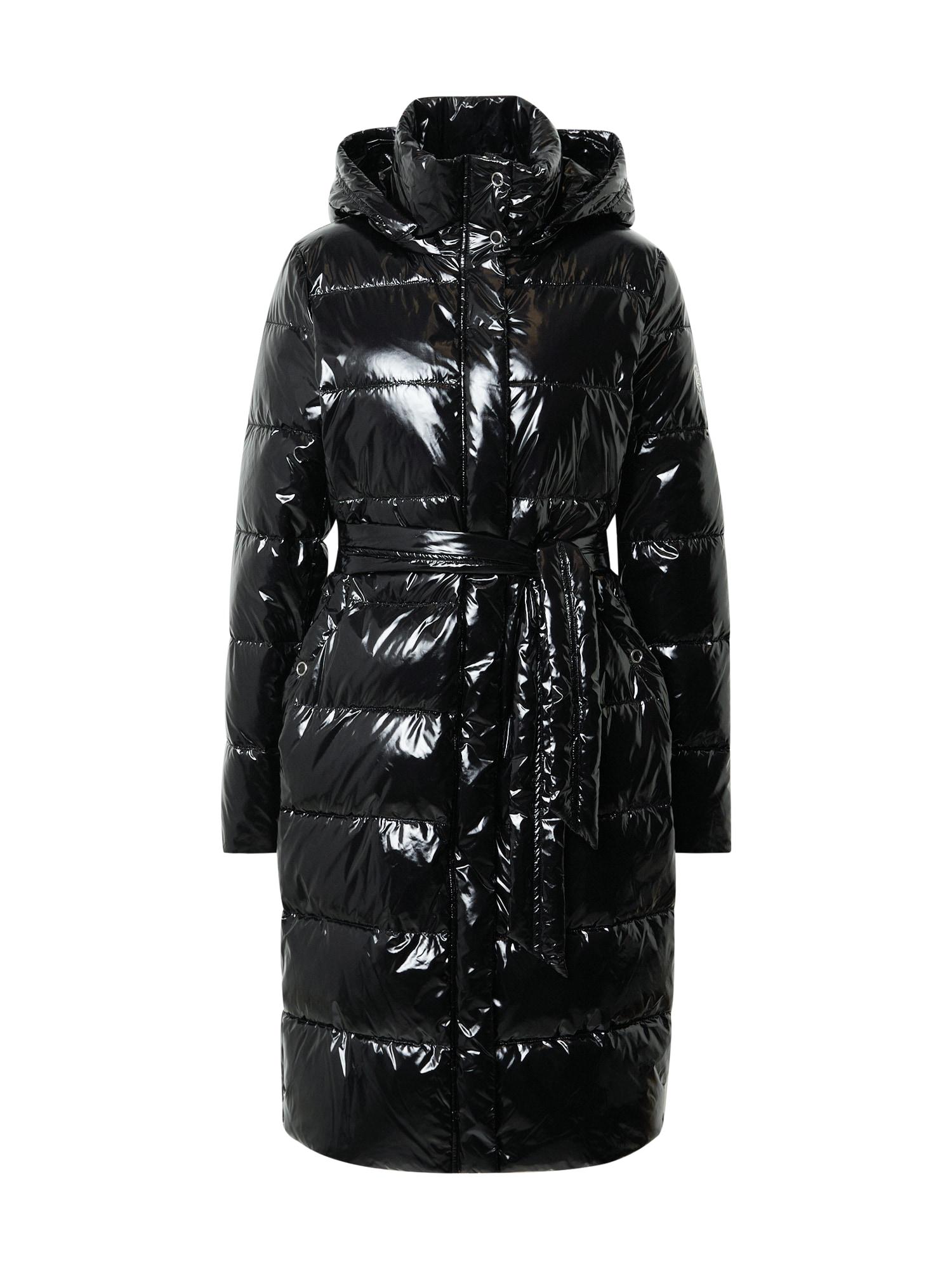 OAKWOOD Přechodný kabát  černá