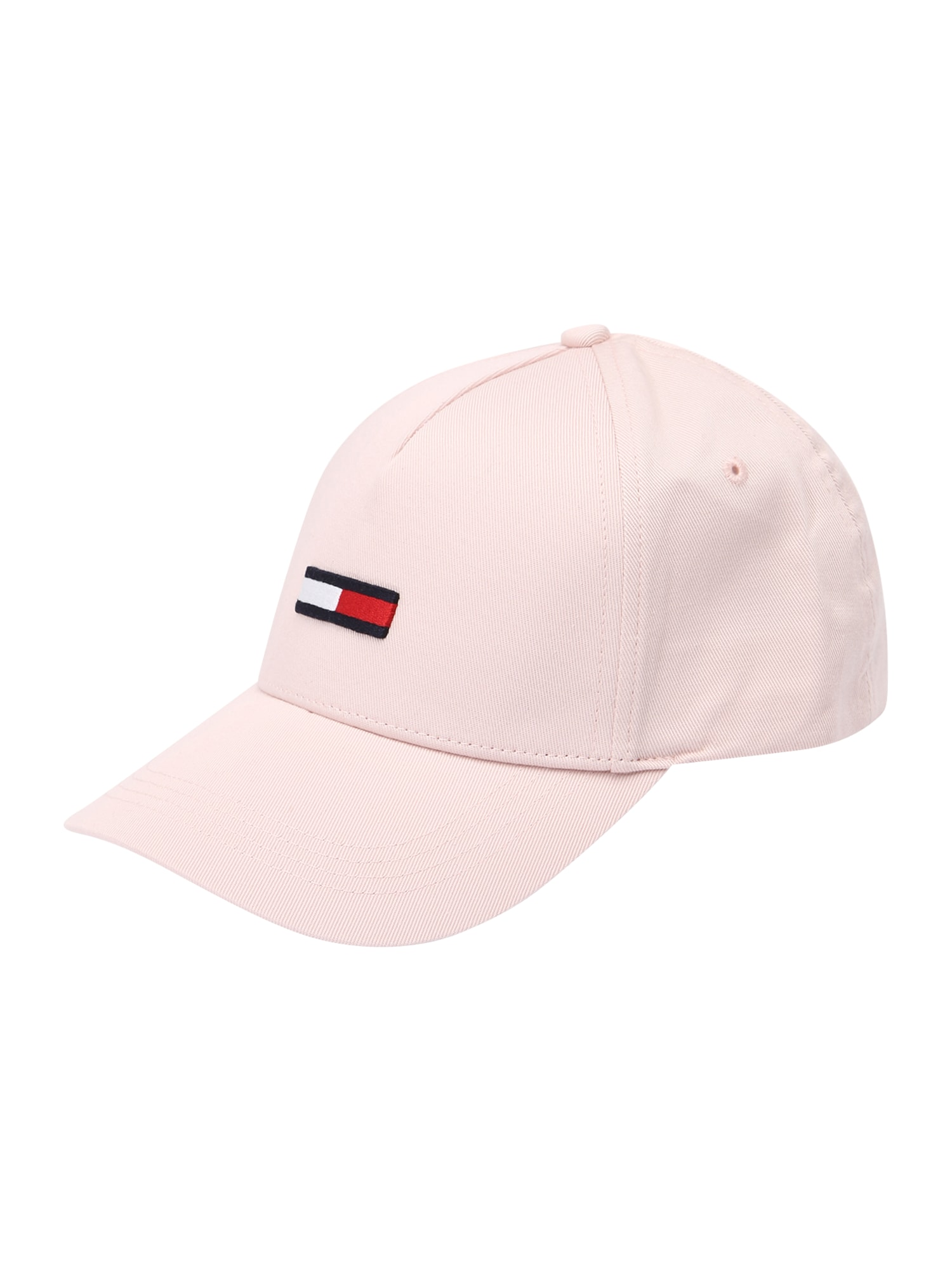 Tommy Jeans Čepice  světle růžová / bílá / červená / noční modrá