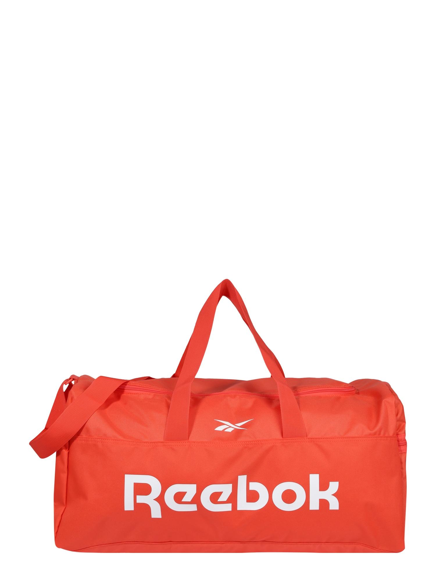 REEBOK Sportinis krepšys koralų splava / balta