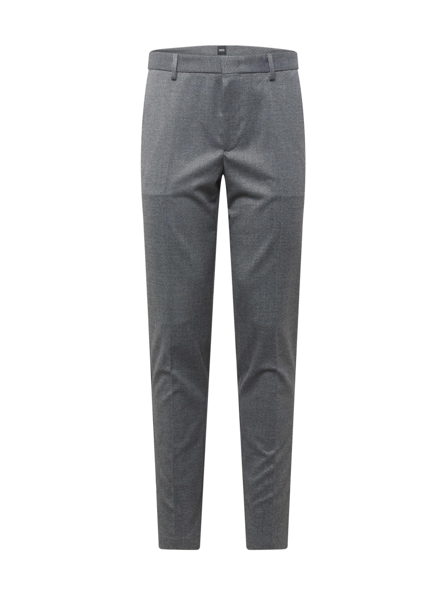 BOSS Kalhoty s puky 'Kaito1'  šedý melír