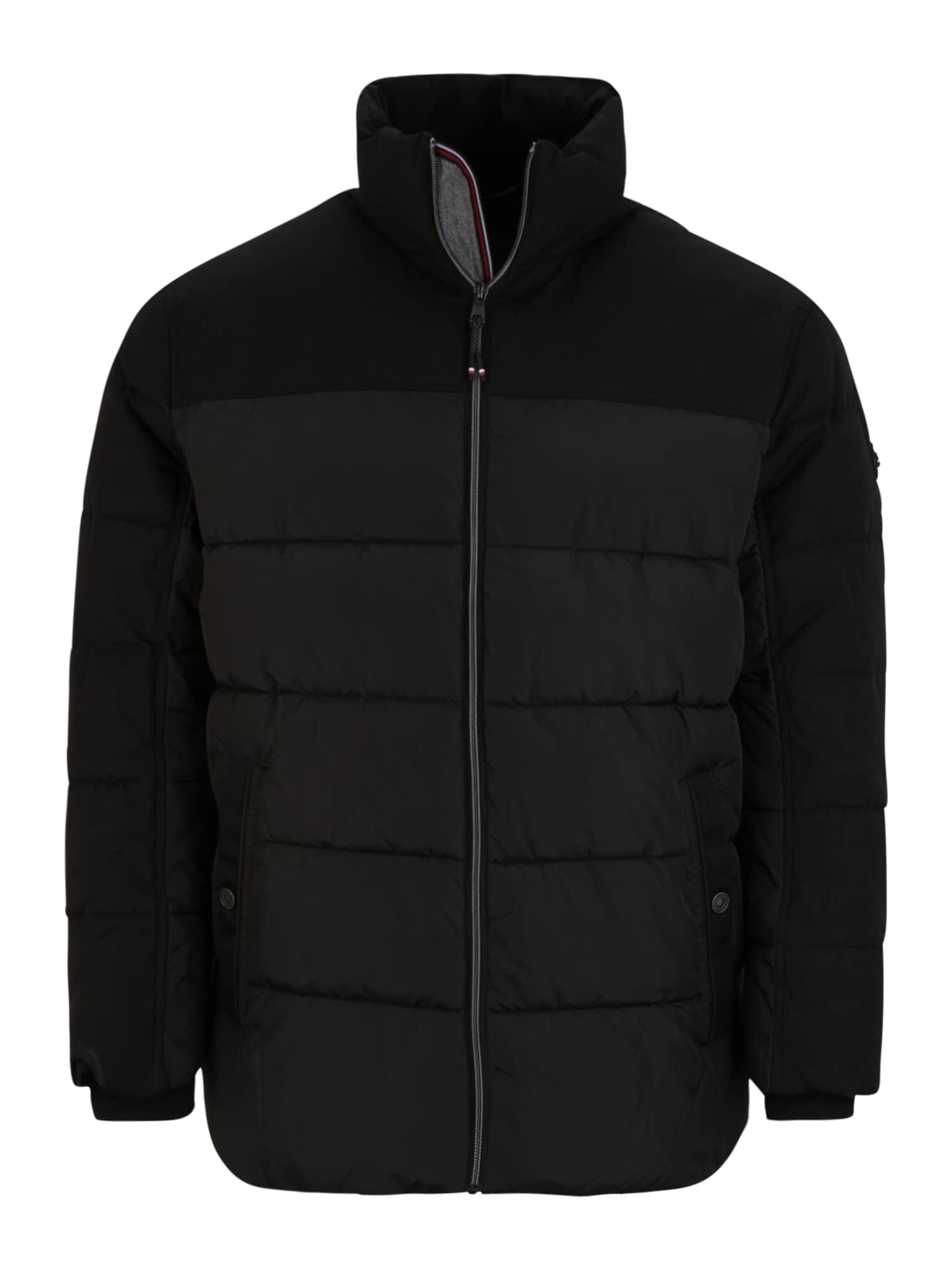 TOM TAILOR Men + Zimní bunda  černá