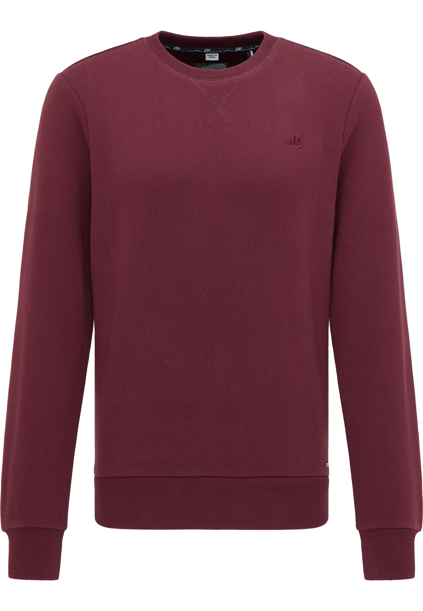 DreiMaster Vintage Megztinis be užsegimo skaisti avietinė ar rubino spalva