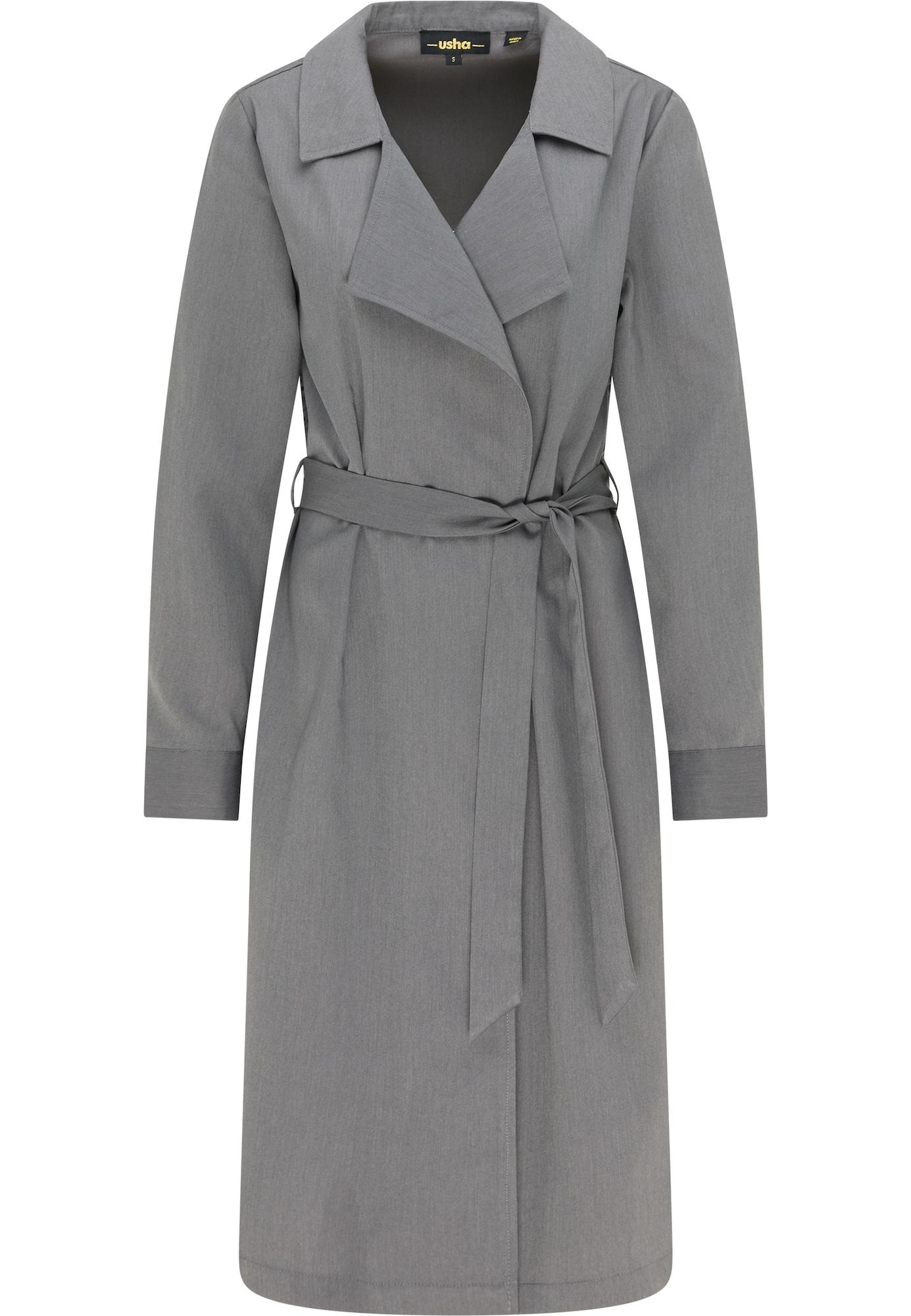 usha BLACK LABEL Demisezoninis paltas pilka