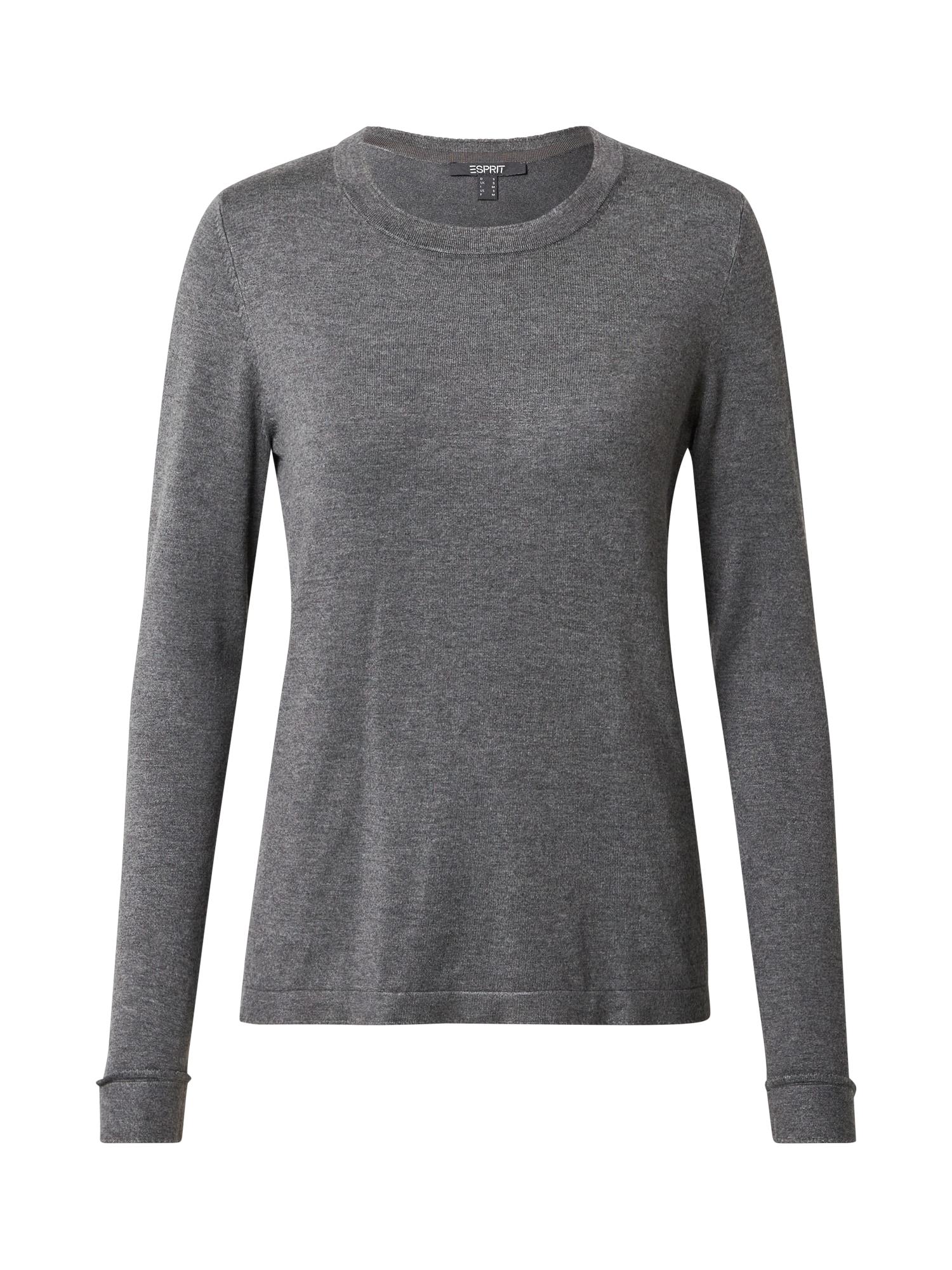 Esprit Collection Megztinis margai pilka